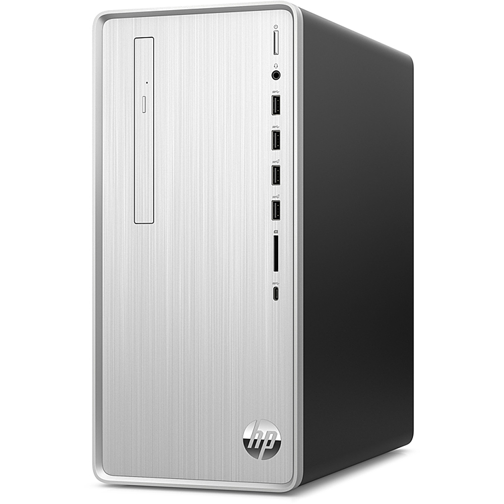 Alt View Zoom 4. HP - Pavilion Desktop - Intel Core i7-10700 - 16GB - Intel UHD Graphics 630 - 1TB HDD + 256GB SSD - Silver.