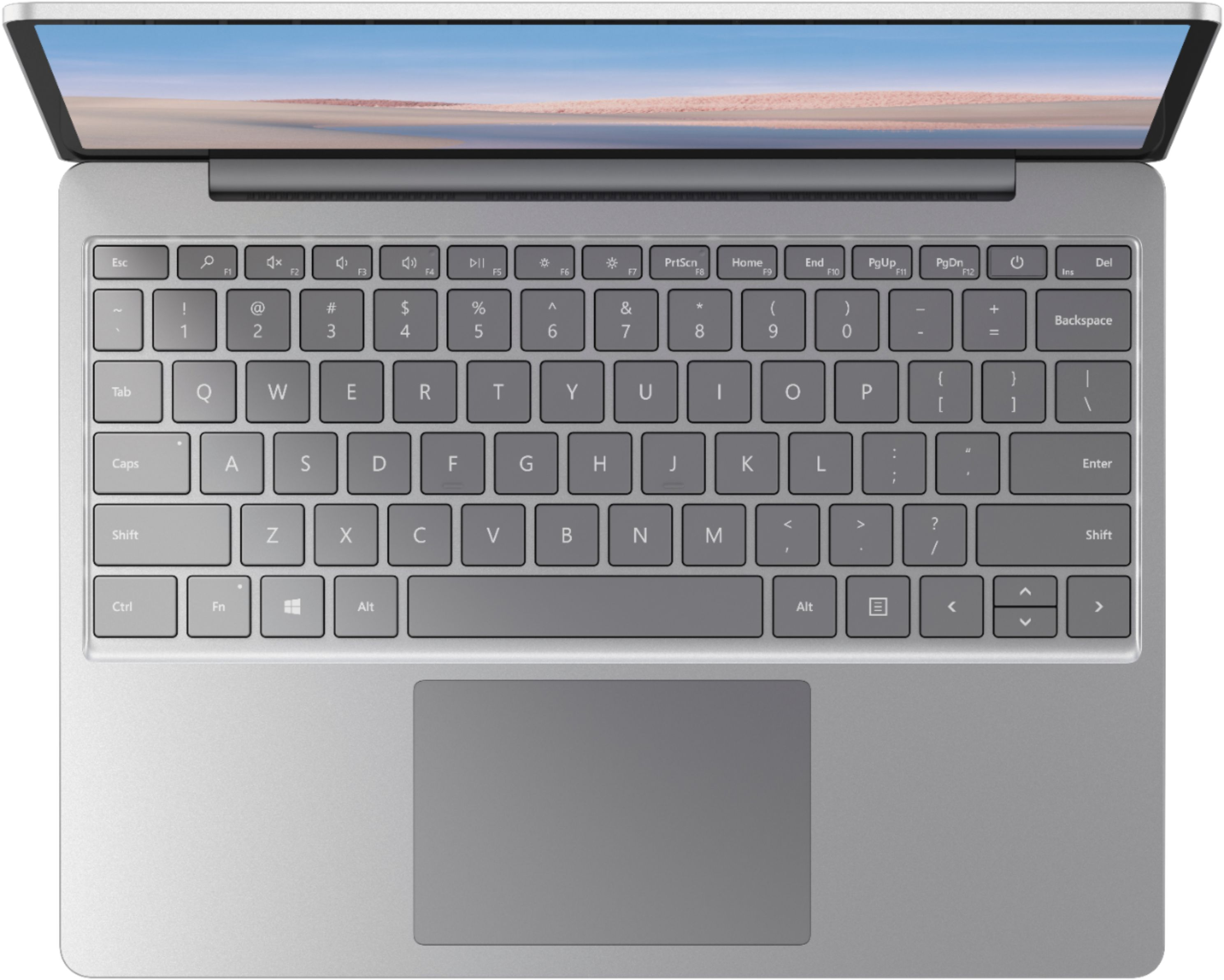 """Alt View Zoom 12. Microsoft - Surface Laptop Go - 12.4"""" Touch-Screen - Intel 10th Generation Core i5 - 4GB Memory - 64GB eMMC - Platinum."""