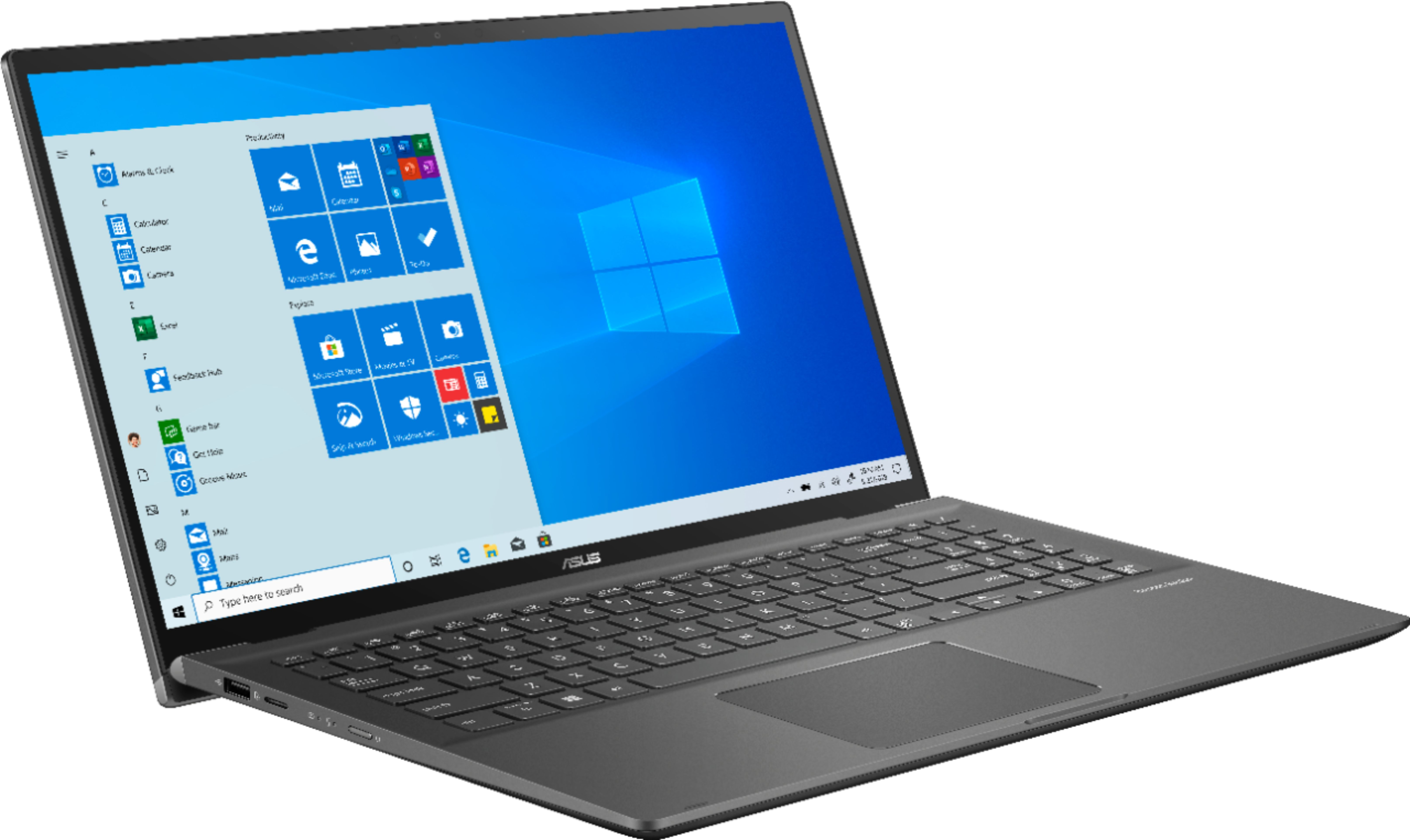 """Angle Zoom. ASUS - 15.6"""" Touch-Screen Laptop - Intel Core i7 - 16GB Memory - 1TB Hard Drive + 128GB Solid State Drive - Gun Gray."""