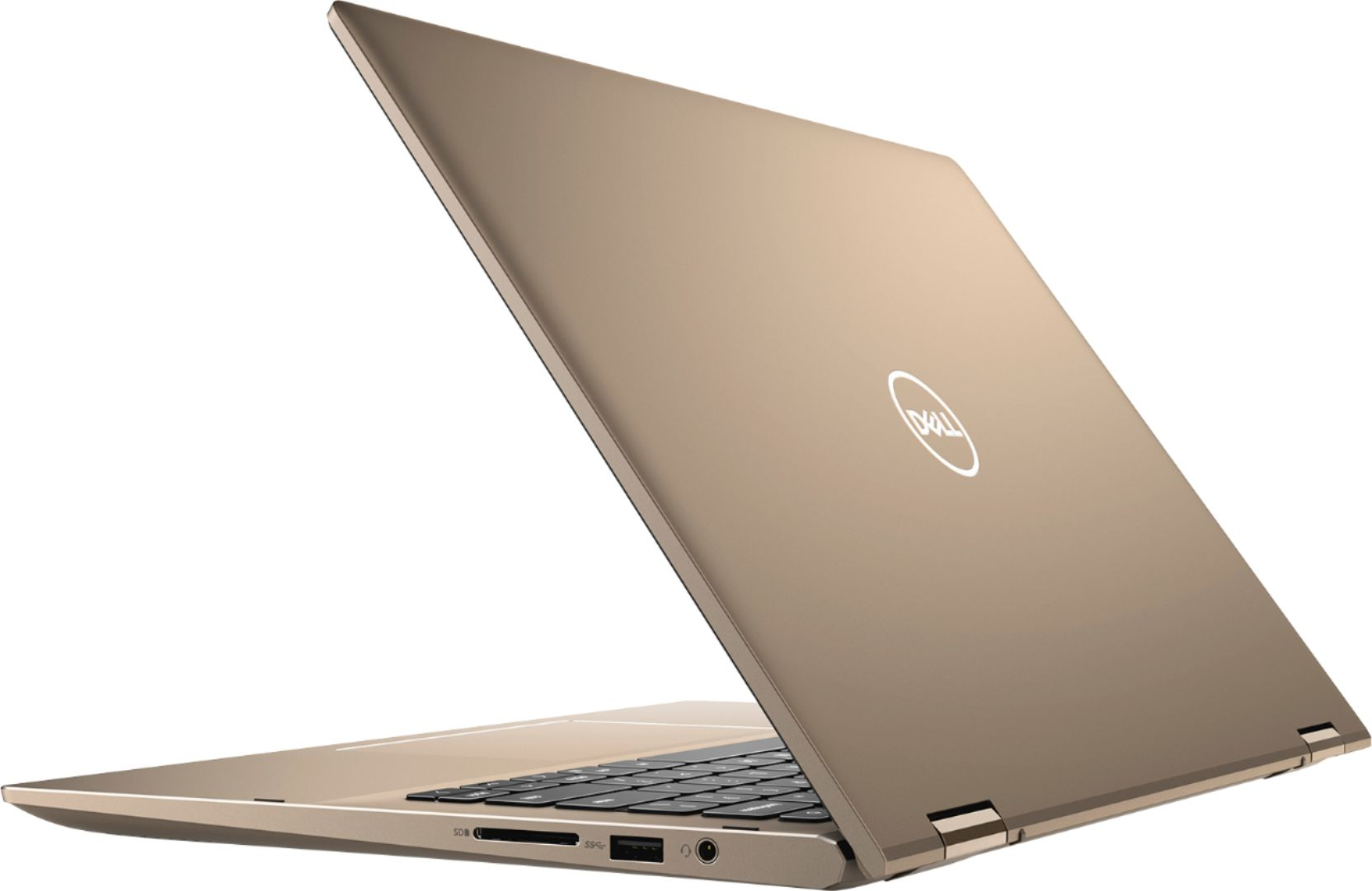 "Alt View Zoom 3. Dell - Inspiron 14 7000 2-in-1 - 14"" Touch Screen Laptop - AMD Ryzen 5 - 8GB Memory - 256GB SSD - Sandstorm."