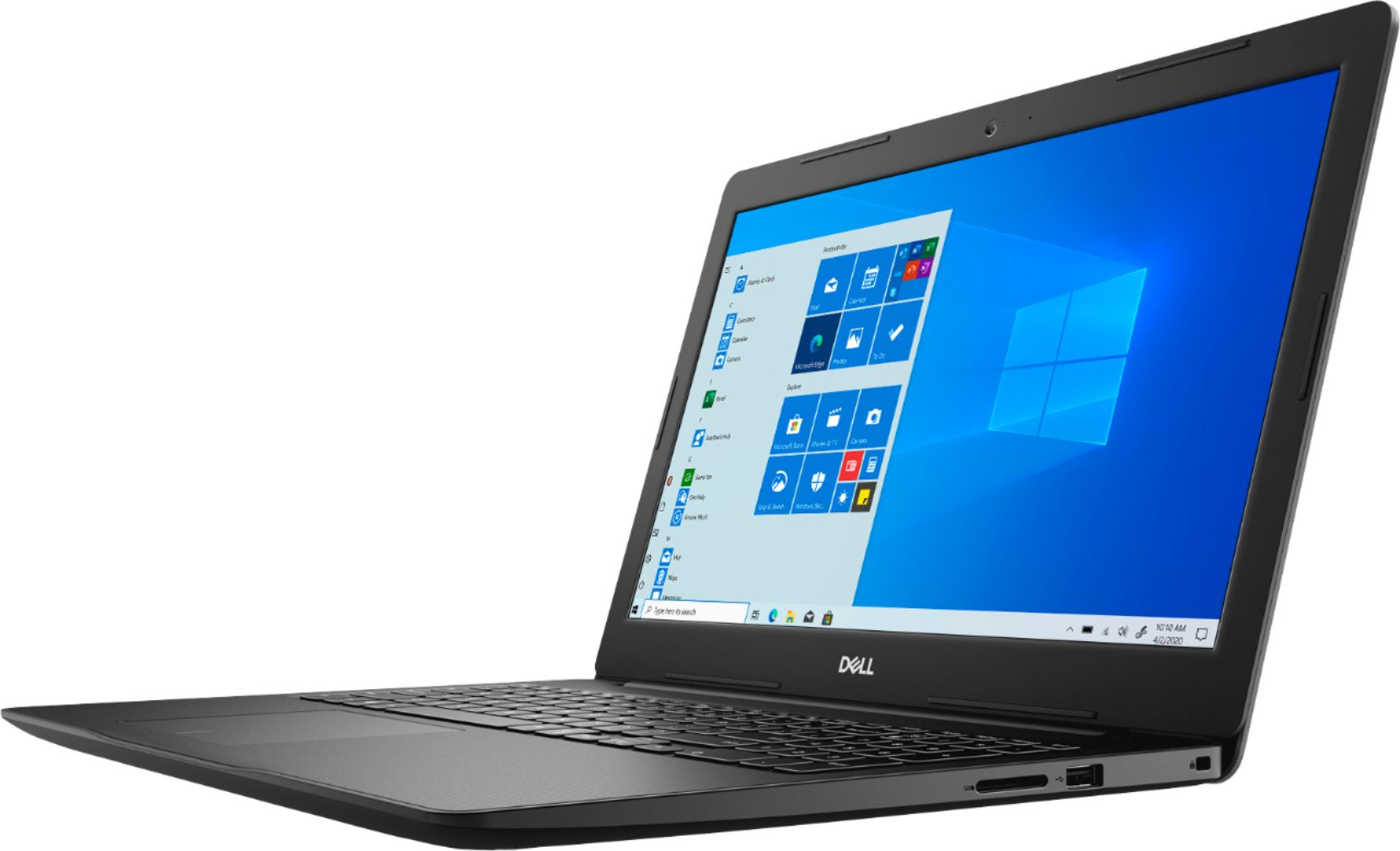 """Left Zoom. Dell - Inspiron 15 3593- 15.6"""" HD Touch Screen Laptop - Intel Core i7 - 12GB Memory - 512GB SSD - Black."""