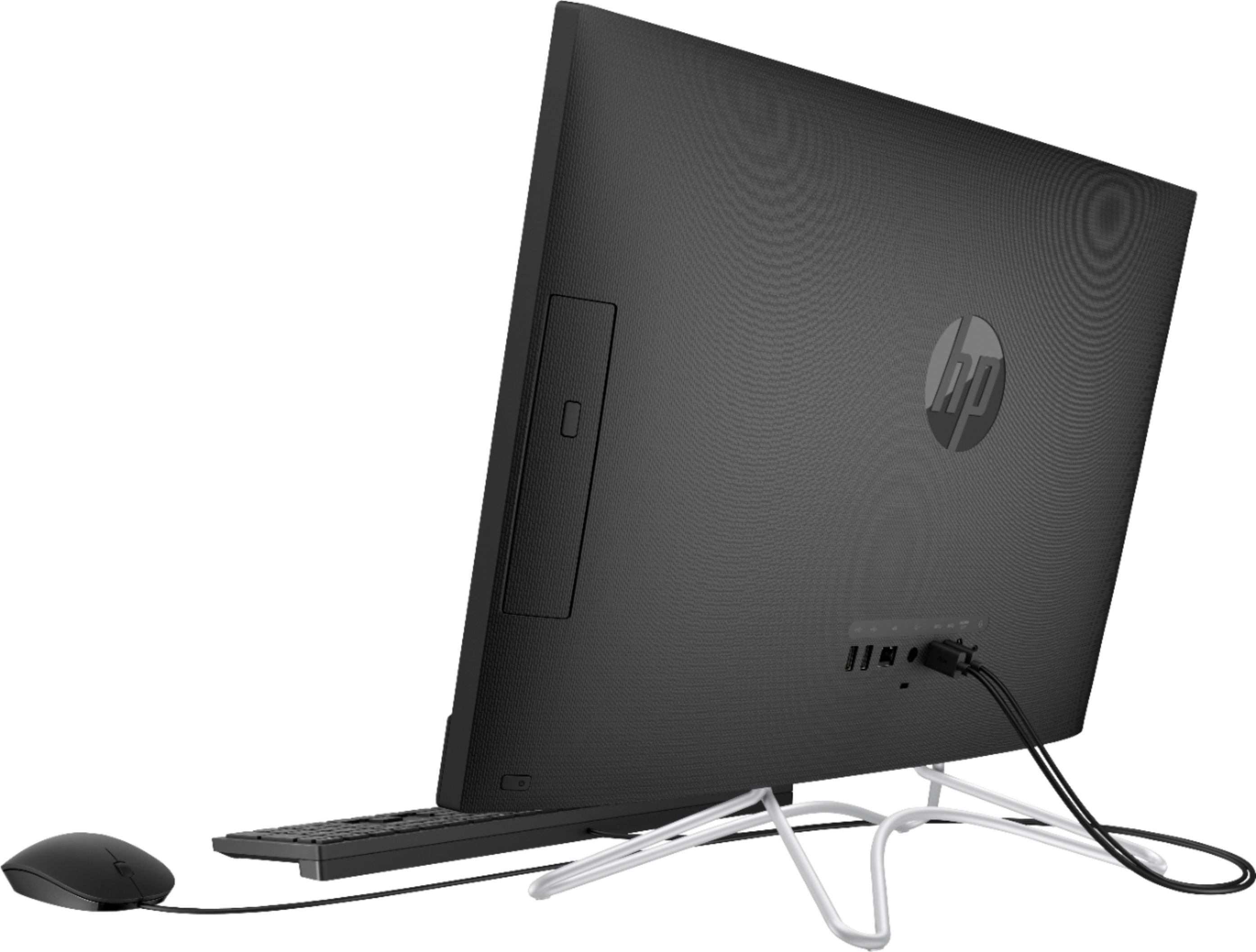 """Alt View Zoom 11. HP - Geek Squad Certified Refurbished 23.8"""" Touch-Screen All-In-One - Intel Core i3 - 8GB Memory - 256GB Solid State Drive - Jet Black."""