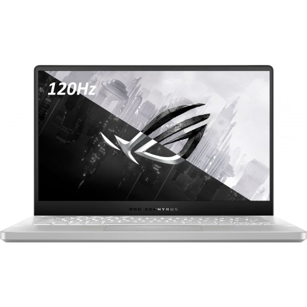 "ASUS - ROG Zephyrus G14 14"" Gaming Laptop - AMD Ryzen 9 - 16GB Memory - NVIDIA GeForce RTX 2060 Max-Q - 1TB SSD - Moonlight White"