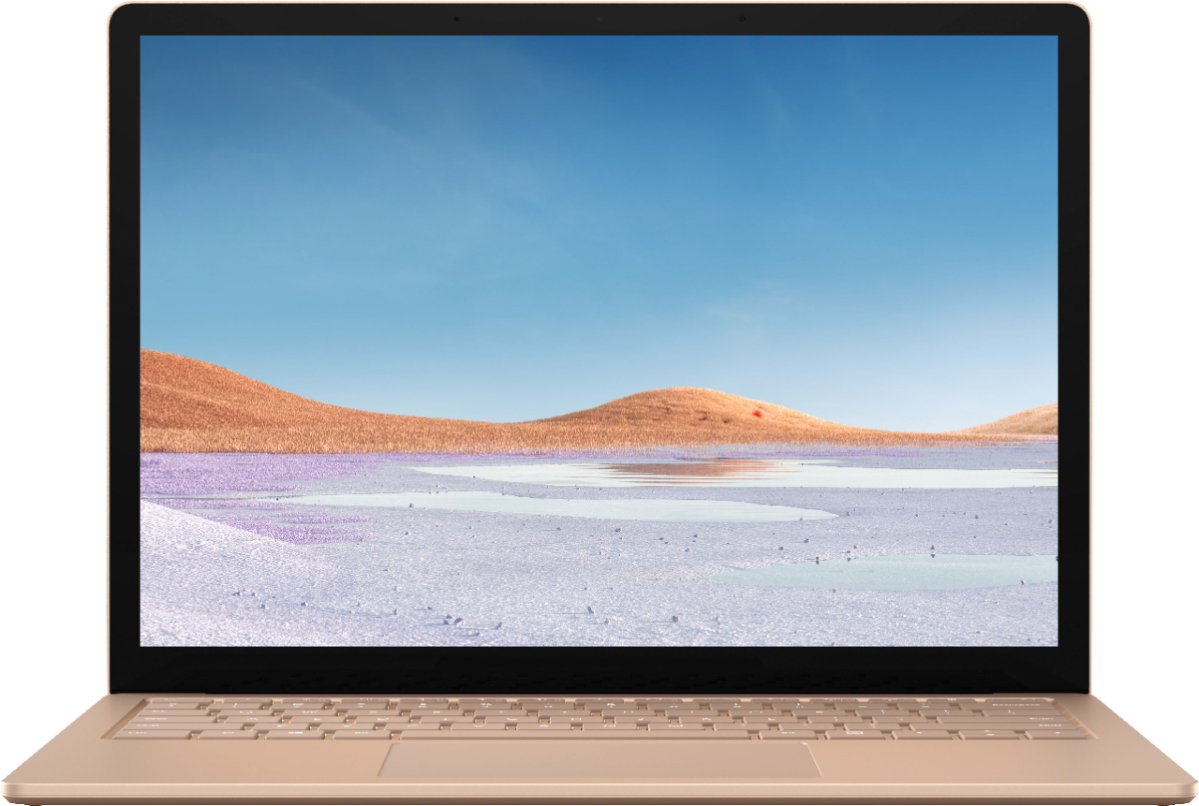 """Alt View Zoom 11. Microsoft - Surface Laptop 3 - 13.5"""" Touch-Screen - Intel Core i5 - 8GB Memory - 256GB Solid State Drive (Latest Model) - Sandstone."""