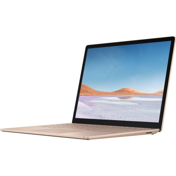 """Microsoft - Surface Laptop 3 - 13.5"""" Touch-Screen - Intel Core i5 - 8GB Memory - 256GB Solid State Drive (Latest Model) - Sandstone"""