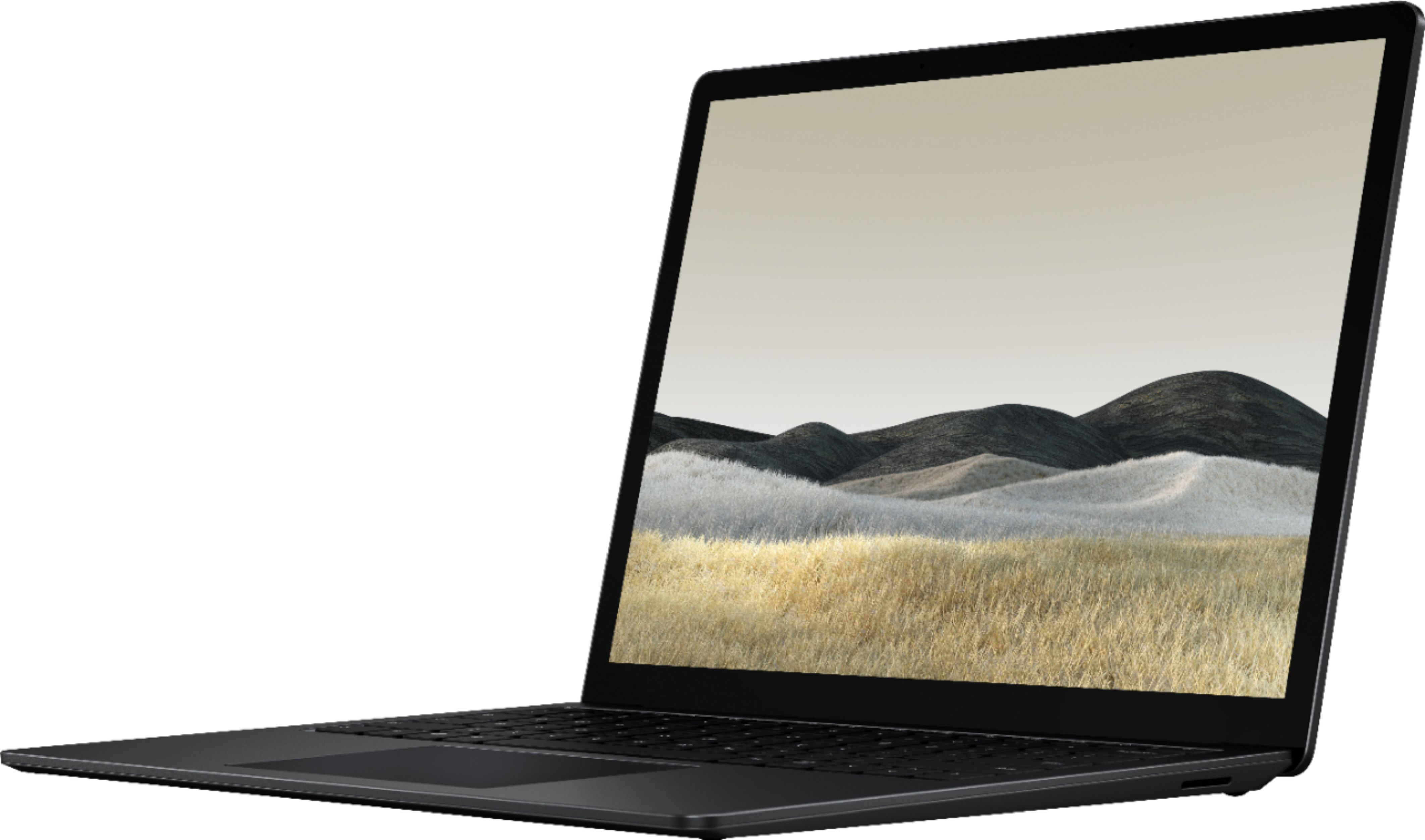 """Front Zoom. Microsoft - Surface Laptop 3 - 13.5"""" Touch-Screen - Intel Core i7 - 16GB Memory - 256GB Solid State Drive (Latest Model) - Matte Black."""