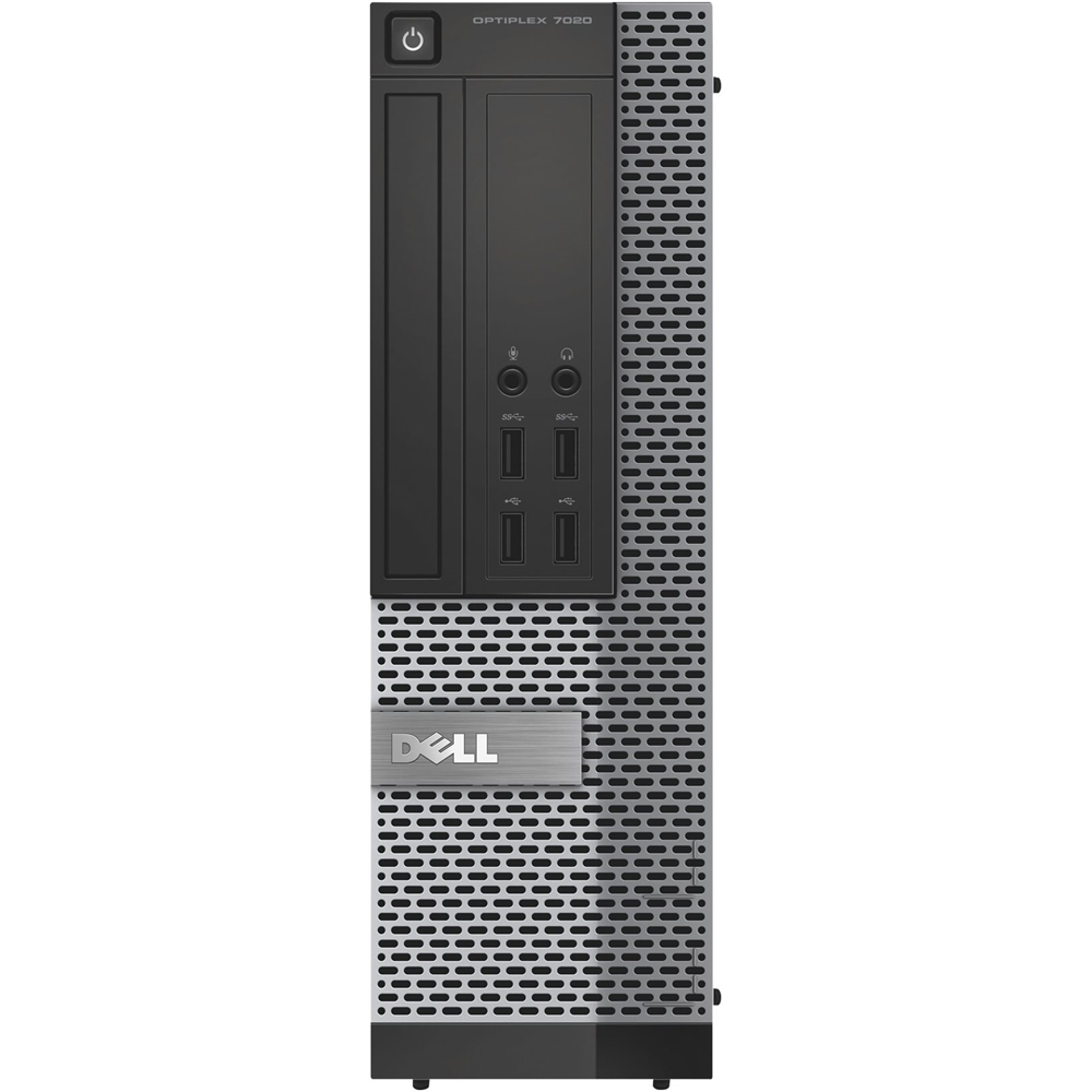 Front Zoom. Dell - Refurbished OptiPlex Desktop - Intel Core i7 - 16GB Memory - 480GB SSD - Black/Silver.