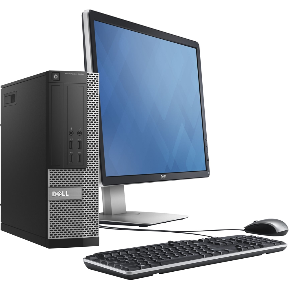 Alt View Zoom 13. Dell - Refurbished OptiPlex Desktop - Intel Core i7 - 16GB Memory - 480GB SSD - Black/Silver.
