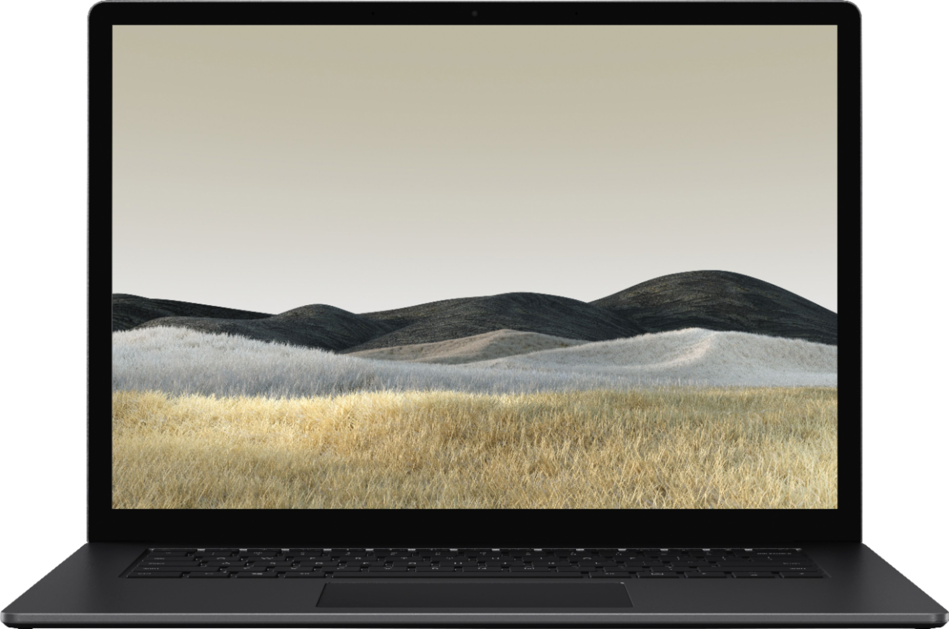 """Alt View Zoom 11. Microsoft - Surface Laptop 3 - 15"""" Touch-Screen - AMD Ryzen™ 5 Surface Edition - 8GB Memory - 256GB SSD (Latest Model) - Matte Black."""