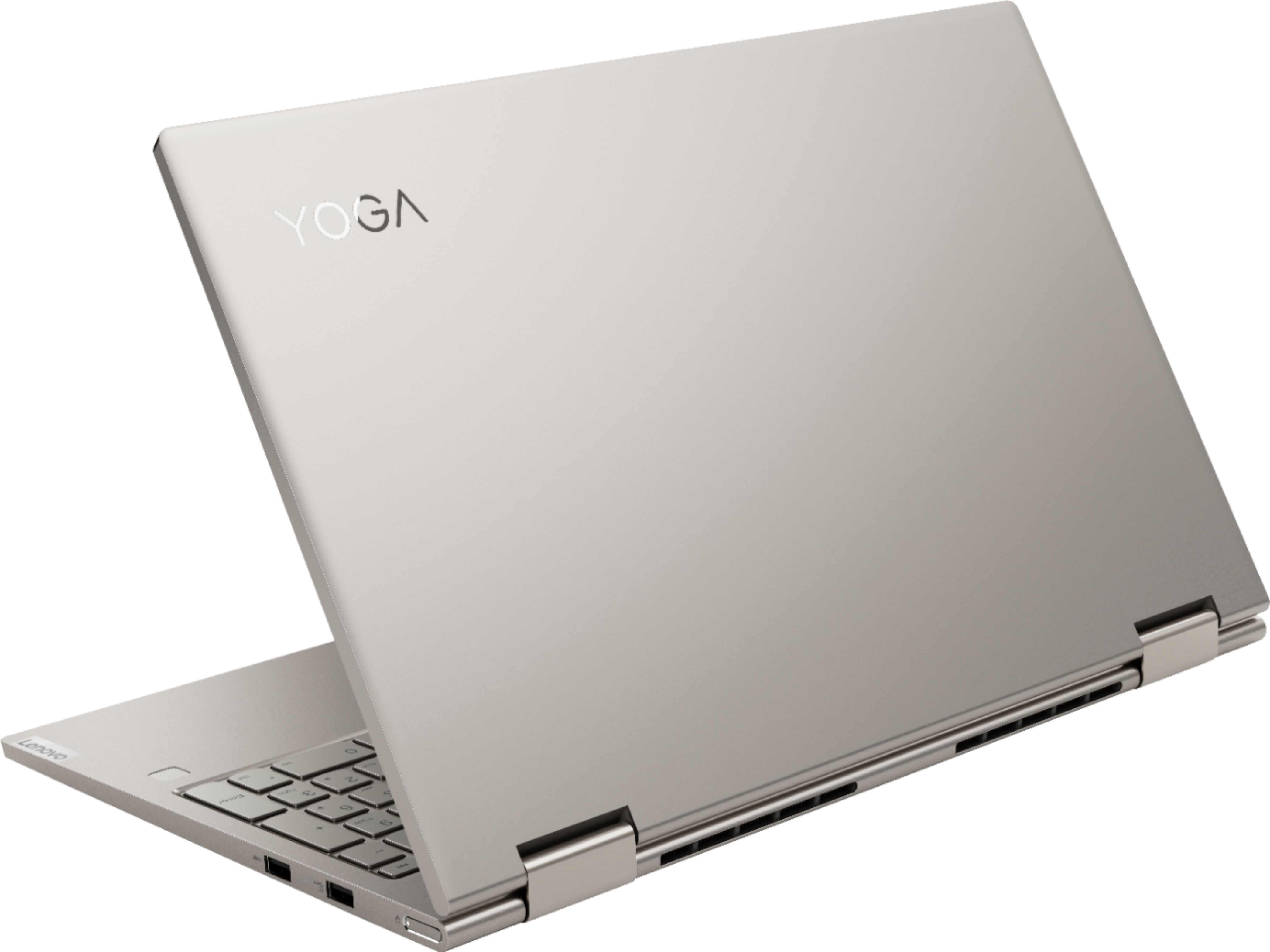 "Alt View Zoom 1. Lenovo - Yoga C740 2-in-1 15.6"" Touch-Screen Laptop - Intel Core i7 - 12GB Memory - 512GB Solid State Drive - Mica."