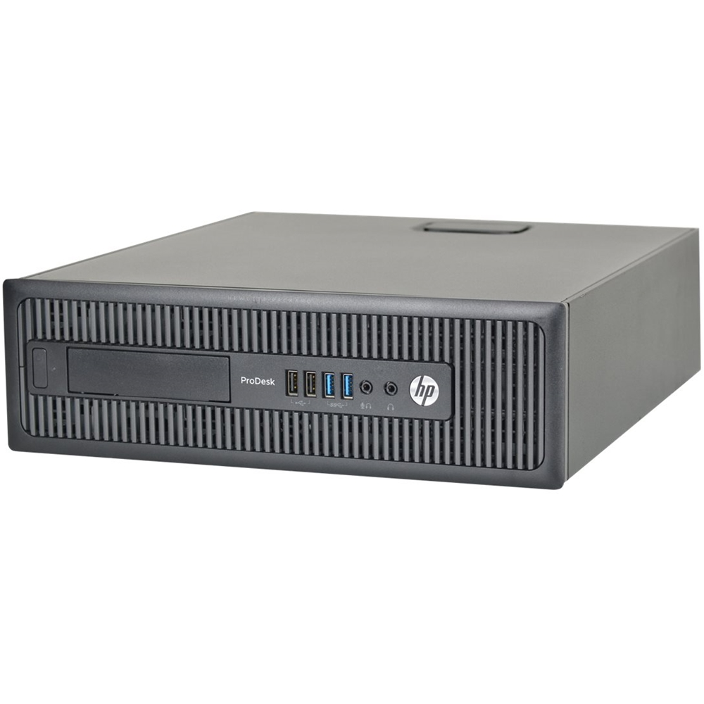 Alt View Zoom 11. HP - Refurbished ProDesk Desktop - Intel Core i5 - 8GB Memory - 240GB Solid State Drive - Black.