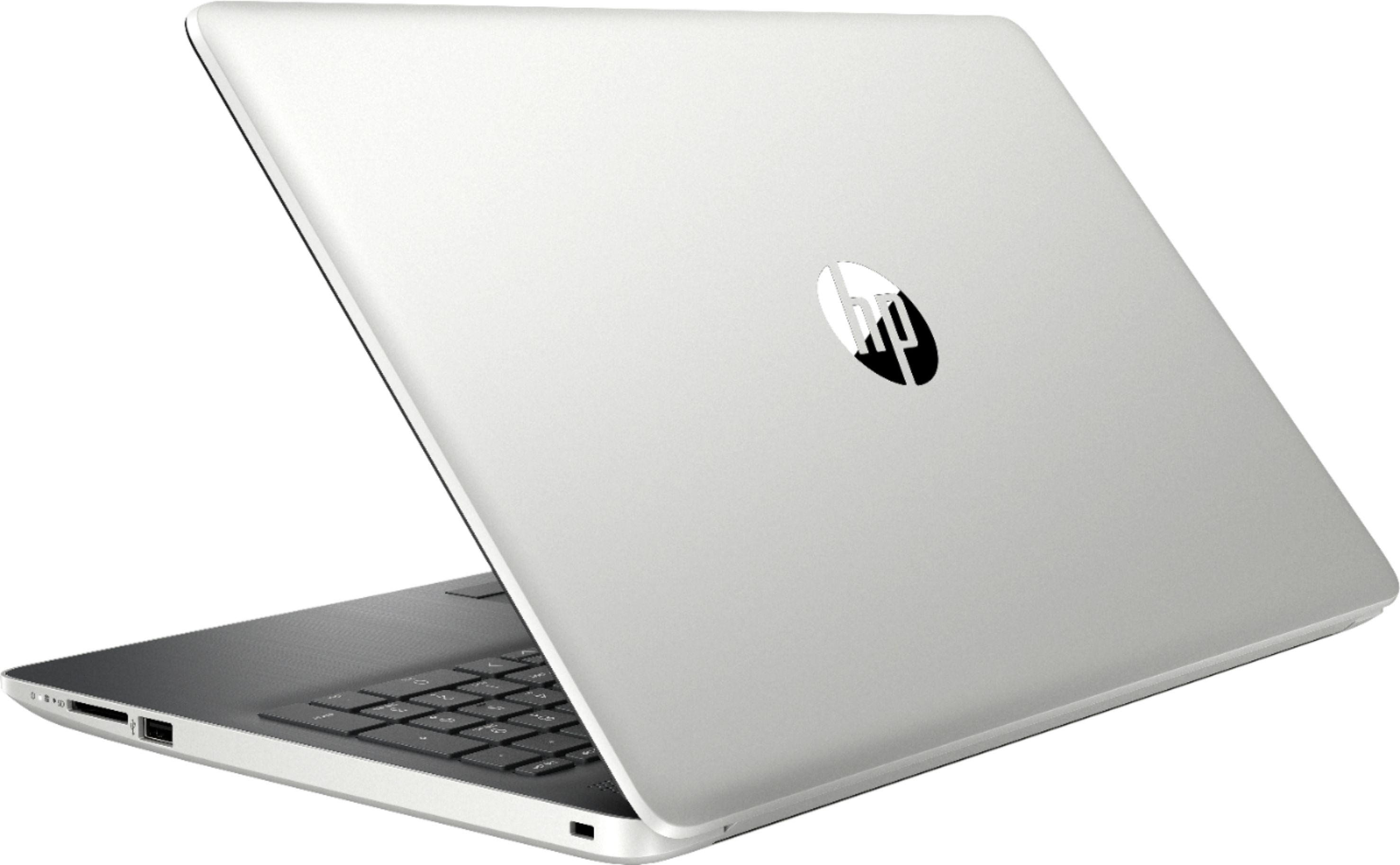 """Alt View Zoom 1. HP - 15.6"""" Touch-Screen Laptop - Core i7 - 12GB Memory - 512GB SSD - Natural silver."""