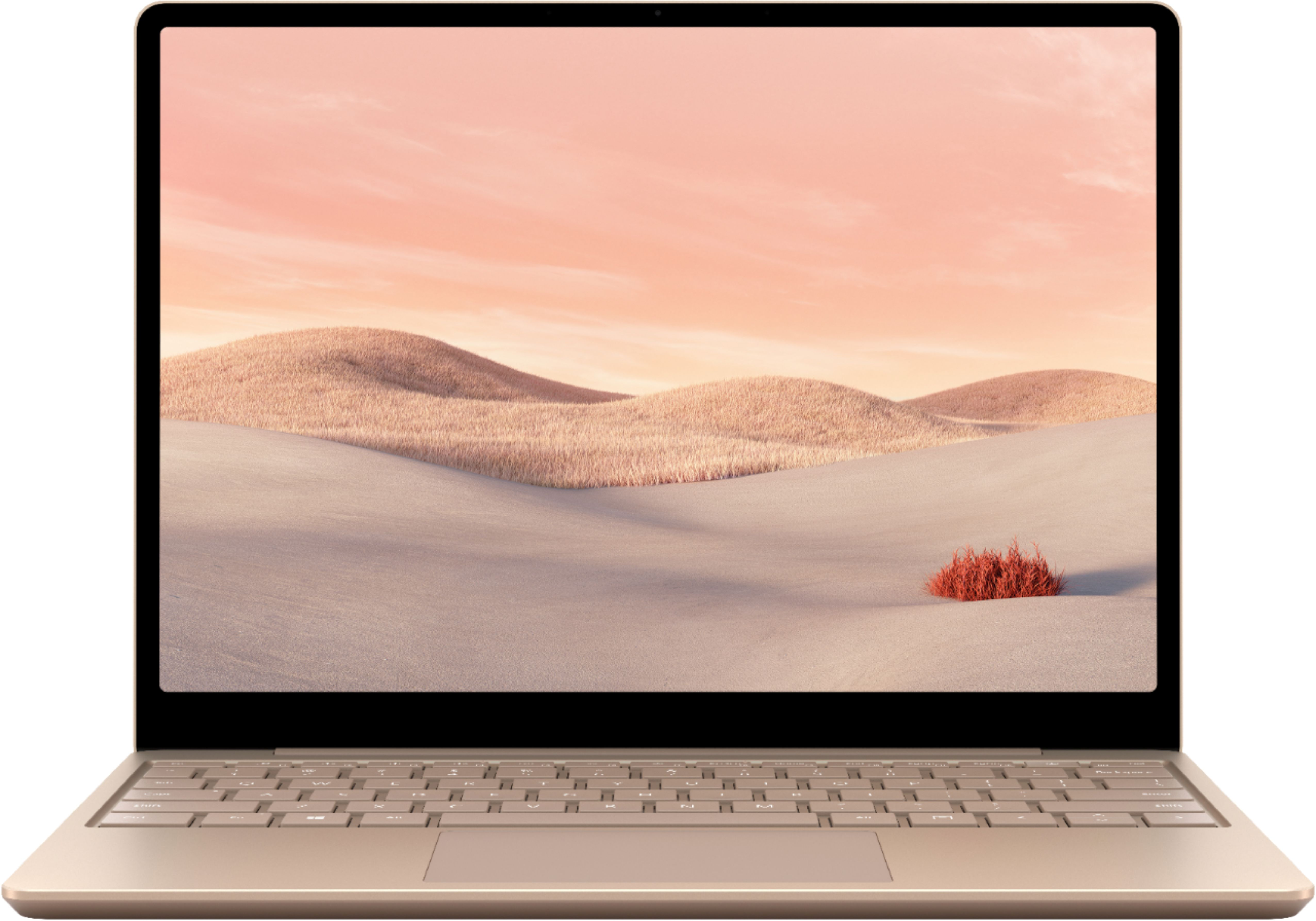"""Alt View Zoom 11. Microsoft - Surface Laptop Go - 12.4"""" Touch-Screen - Intel 10th Generation Core i5 - 8GB Memory - 256GB Solid State Drive - Sandstone."""