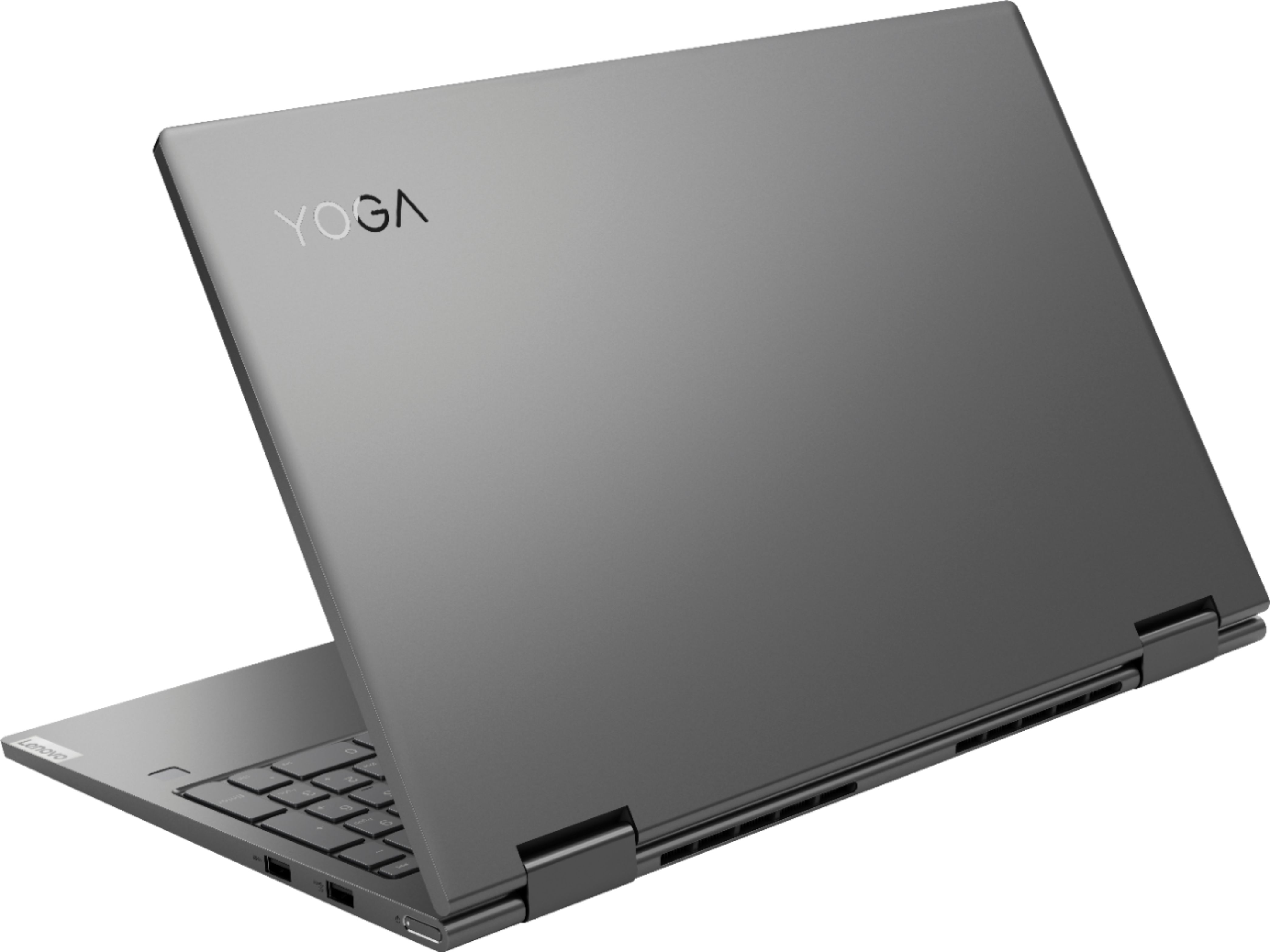 """Alt View Zoom 1. Lenovo - Yoga C740 2-in-1 15.6"""" Touch-Screen Laptop - Intel Core i5 - 12GB Memory - 256GB Solid State Drive - Iron Gray."""