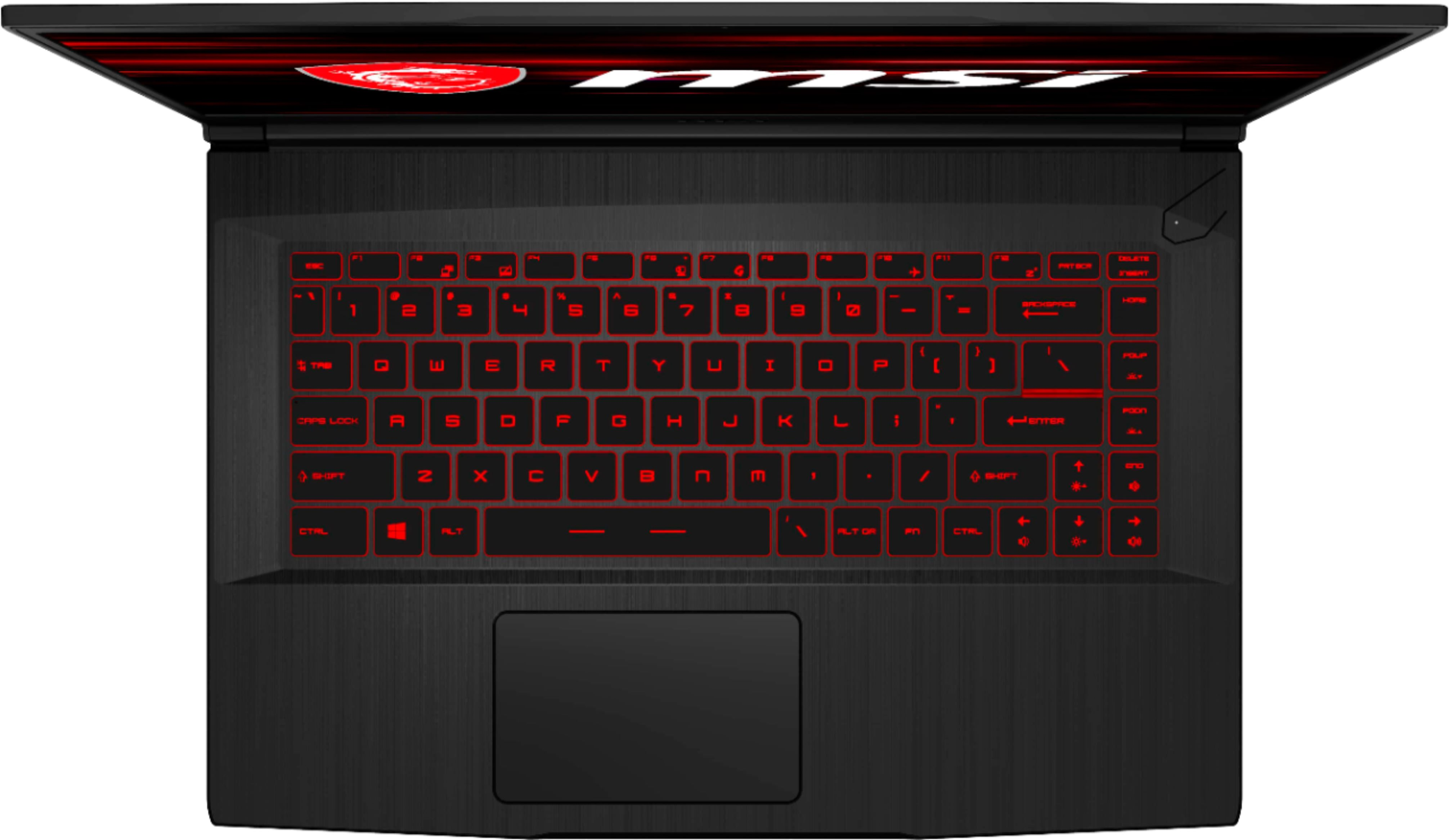 "Alt View Zoom 12. MSI - GF65 15.6"" Gaming Laptop - Intel Core i7 - 8GB Memory - NVIDIA GeForce RTX 2060 - 512GBSolid State Drive - Black."
