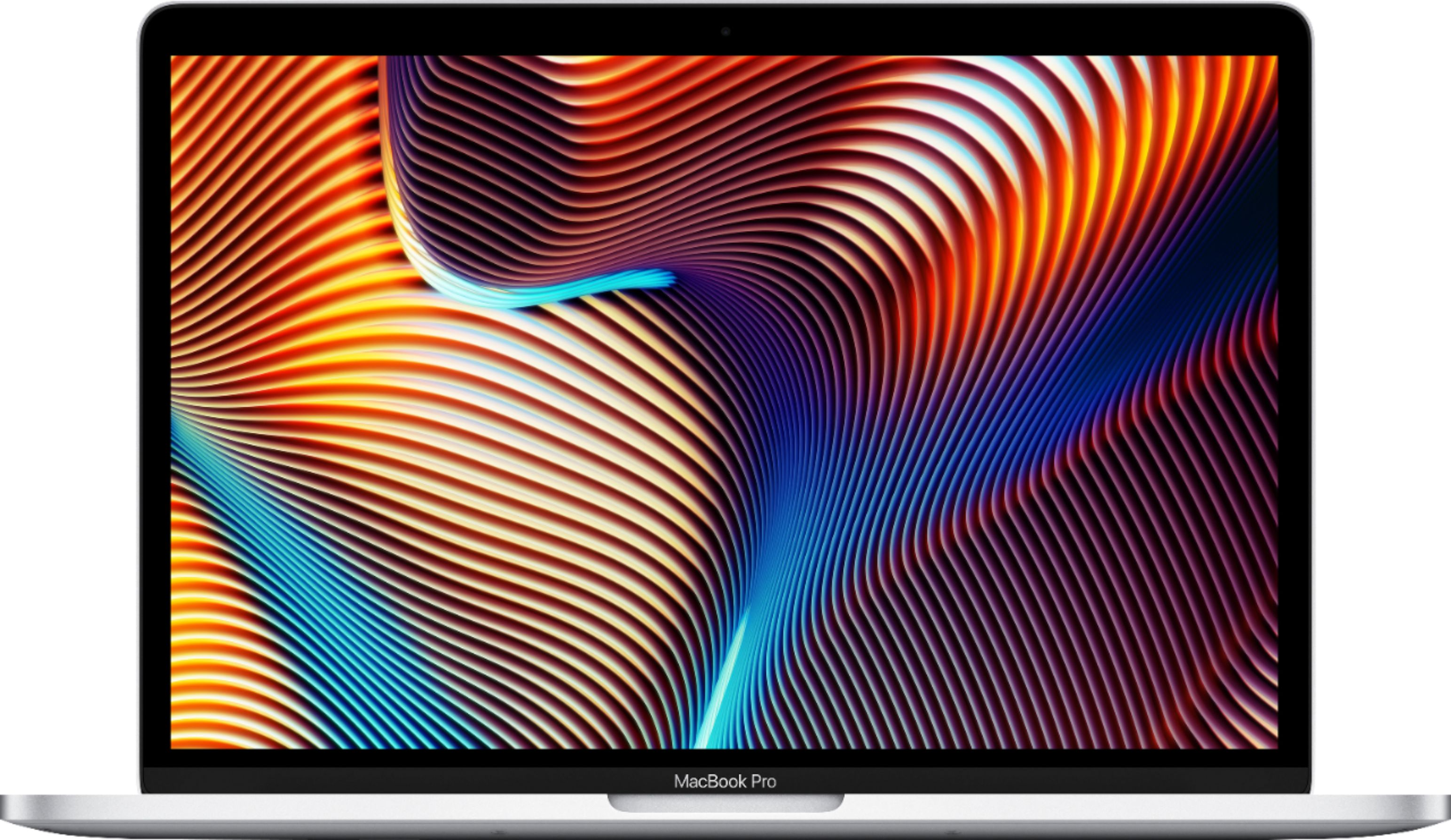 """Front Zoom. Apple - MacBook Pro - 13"""" Display with Touch Bar - Intel Core i5 - 8GB Memory - 512GB SSD - Silver."""
