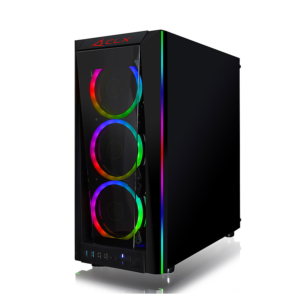 Alt View Zoom 11. CLX - SET Gaming Desktop - Intel Core i9 9900KF  - 32GB DDR4 3000GHz Memory - GeForce RTX 3060 Ti - 960GB SSD + 4TB HDD.