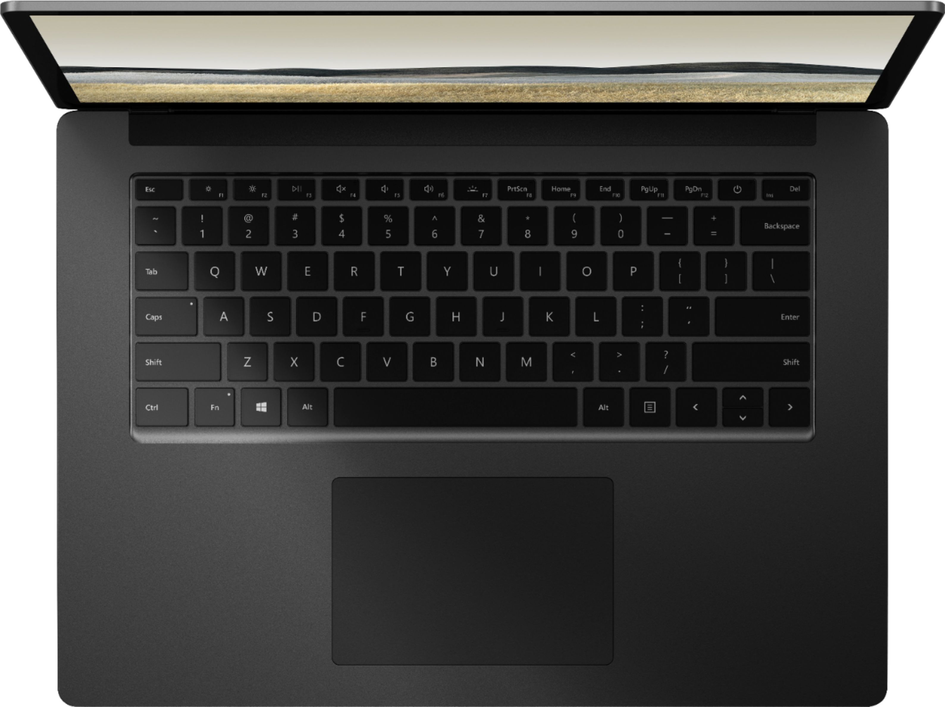 """Alt View Zoom 12. Microsoft - Surface Laptop 3 - 15"""" Touch-Screen - AMD Ryzen™ 5 Surface Edition - 16GB Memory - 256GB SSD (Latest Model) - Matte Black."""