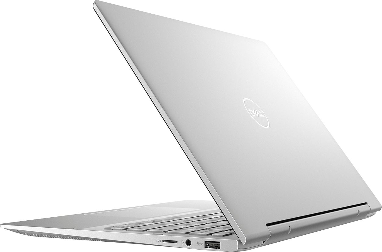 """Alt View Zoom 1. Dell - Inspiron 13.3"""" 7000 2-in-1 Touch-Screen Laptop - Intel Core i5 - 8GB Memory - 512GB SSD + 32GB Optane - Silver."""
