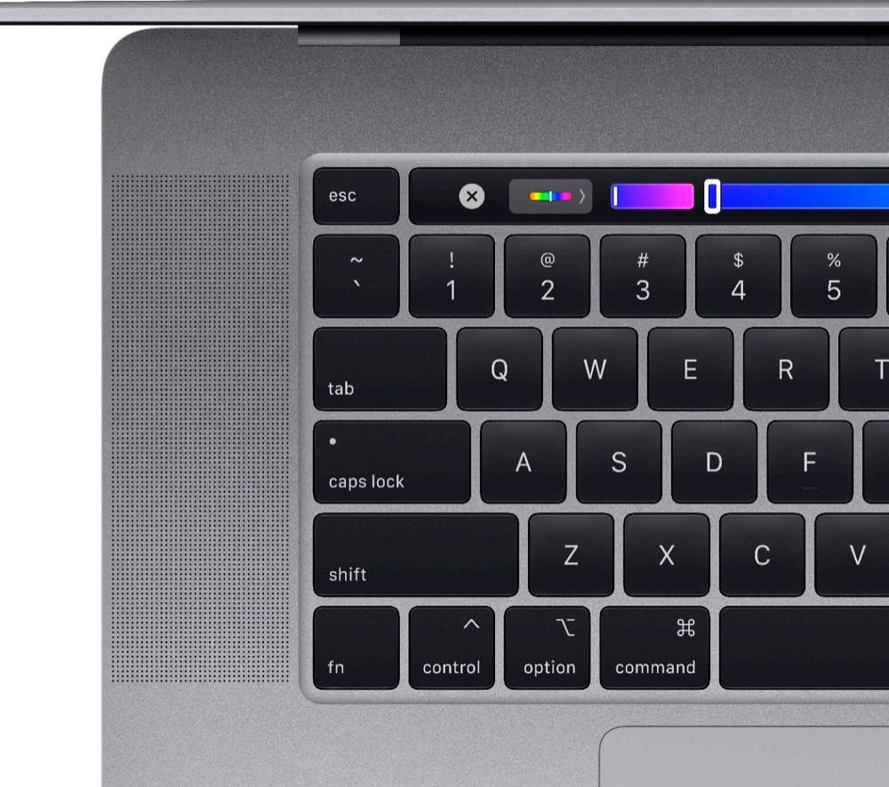 """Alt View Zoom 12. Apple - MacBook Pro 16"""" Display with Touch Bar - Intel Core i7 - 32GB Memory - 1TB SSD - Space Gray."""