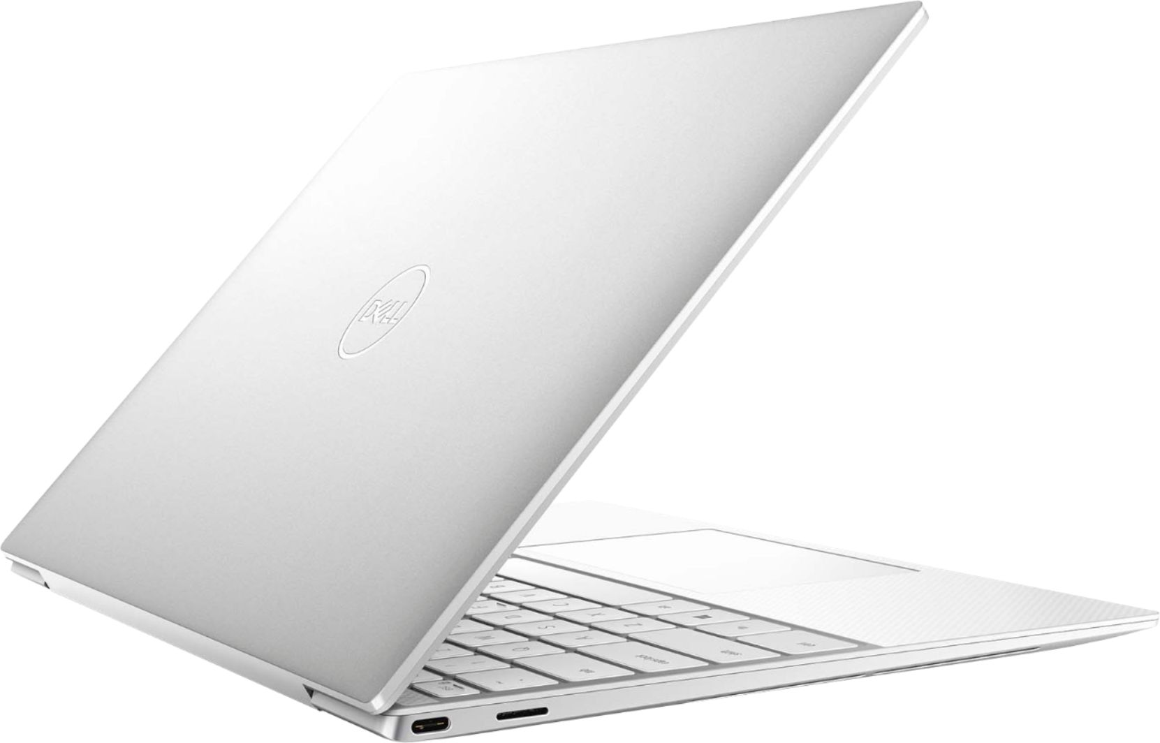 """Alt View Zoom 1. Dell - XPS 13.4"""" UHD+ Touch Laptop - Intel Core i7 - 16GB Memory - 512GB SSD - Frost White."""