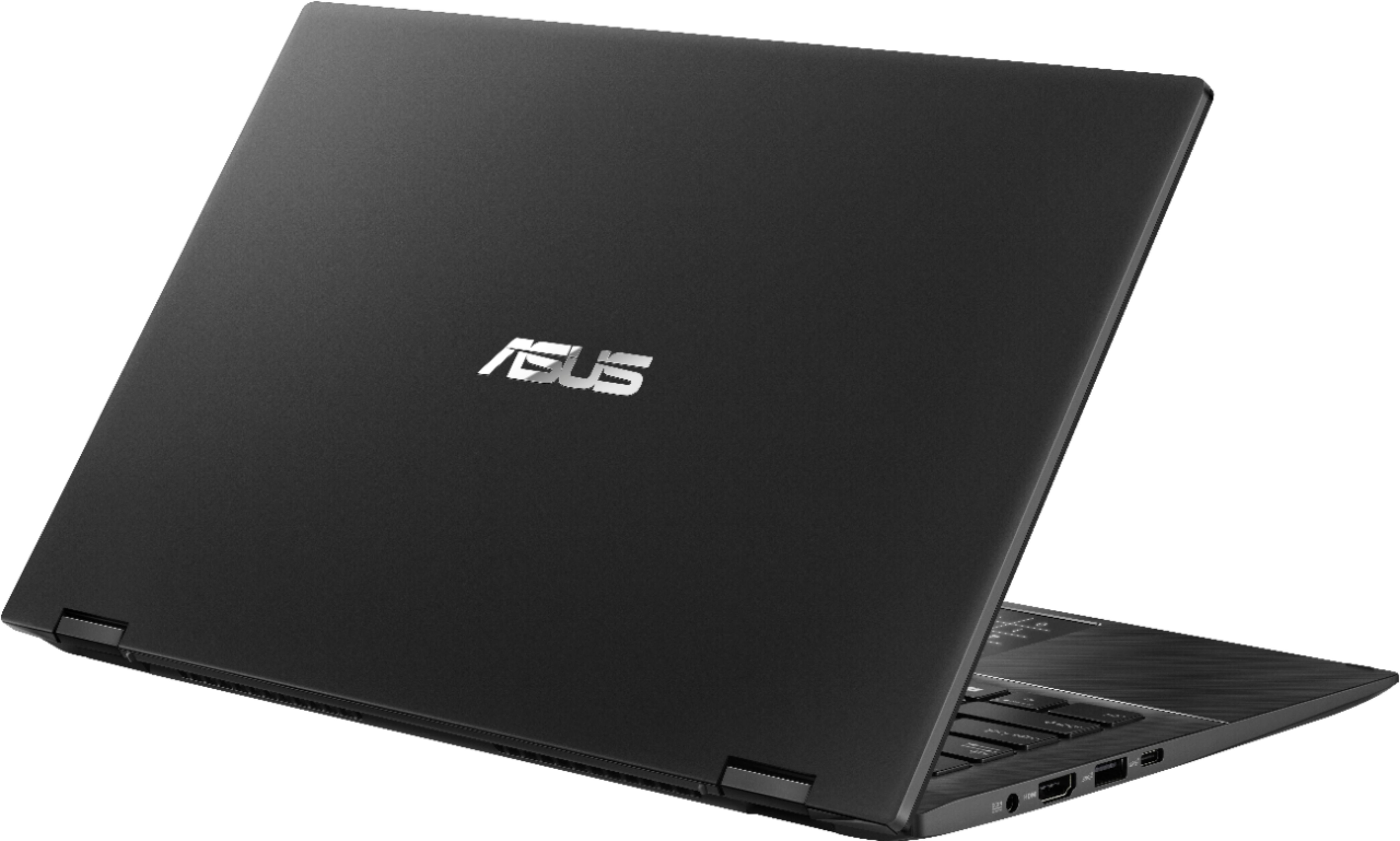 """Alt View Zoom 1. ASUS - Zenbook Flip 14"""" Touch-Screen Laptop - Intel Core i7 - 16GB Memory - NVIDIA GeForce MX250 - 512GB Solid State Drive - Gun Gray."""