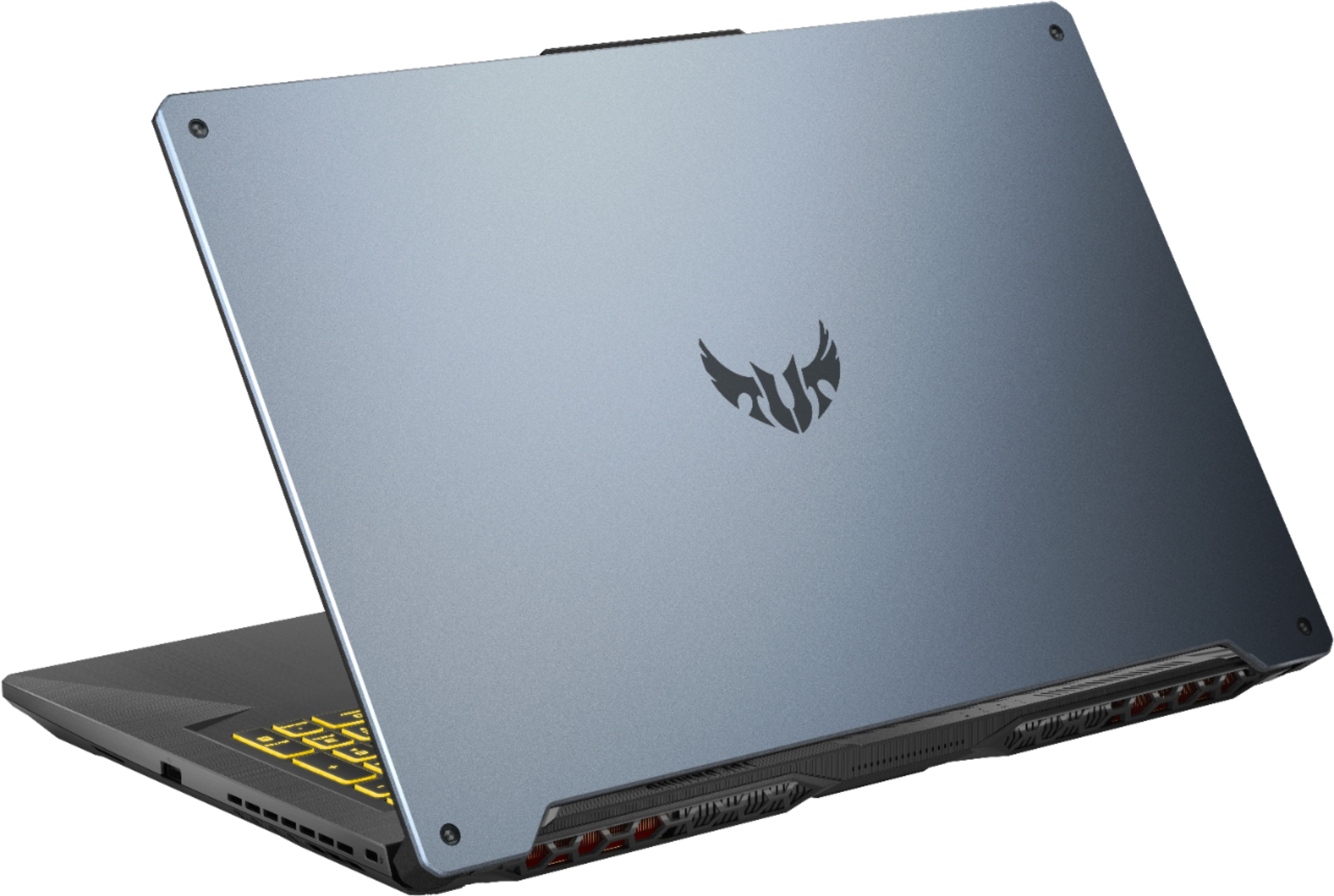 """Alt View Zoom 1. ASUS - TUF 17.3"""" Gaming Notebook - AMD Ryzen 7 4800H 16GB Memory - NVIDIA GeForce GTX 1660Ti - 1TB Solid State Drive - Fortress Gray."""