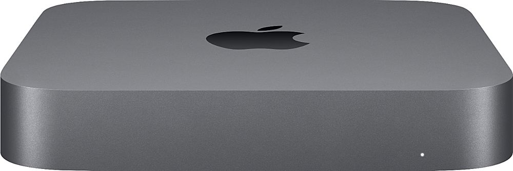 Front Zoom. Apple - Mac mini Desktop - Intel Core i7 - 16GB Memory – 256 GB Solid State Drive - Space Gray.