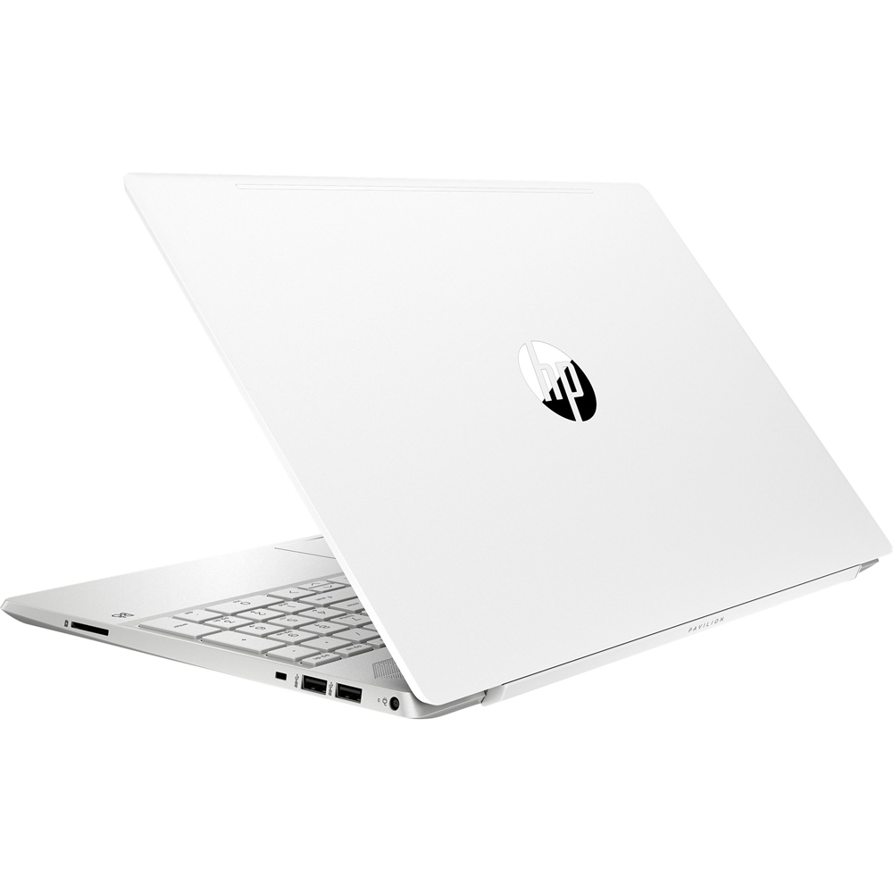 """Alt View Zoom 12. HP - Pavilion 15.6"""" Touch-Screen Laptop - Intel Core i7 - 8GB Memory - 512GB SSD - Ceramic White, Sandblasted Anodized Finish."""