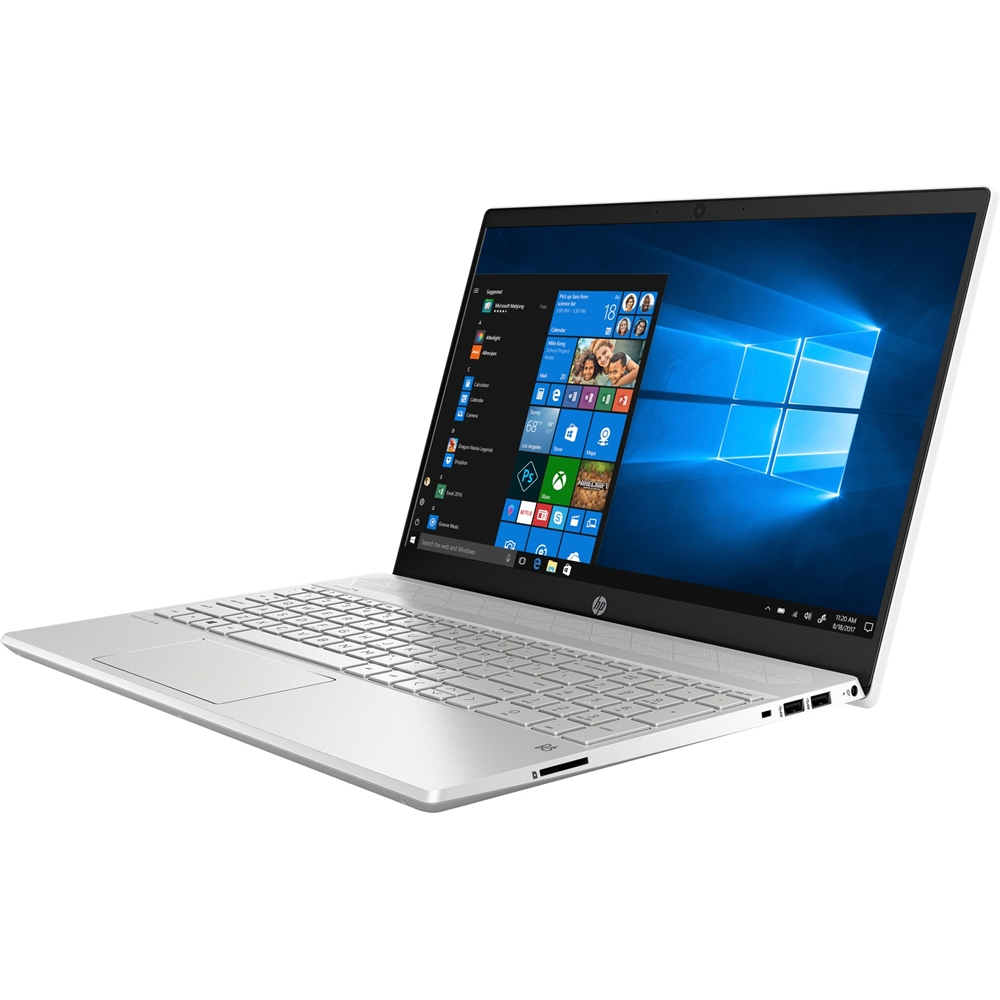 """Alt View Zoom 11. HP - Pavilion 15.6"""" Touch-Screen Laptop - Intel Core i7 - 8GB Memory - 512GB SSD - Ceramic White, Sandblasted Anodized Finish."""