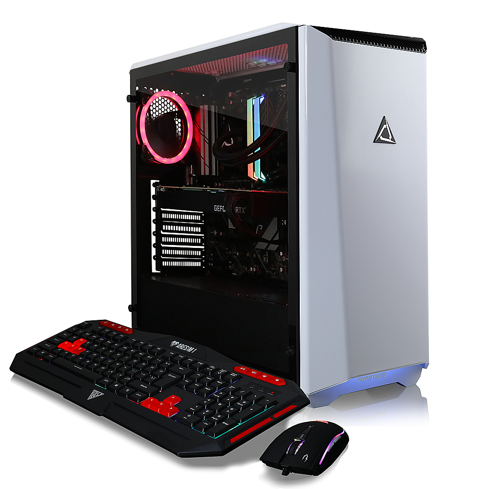 Alt View Zoom 4. CLX - SET Gaming Desktop - AMD Ryzen 9 3950X - 32GB Memory - NVIDIA GeForce RTX 3080 - 4TB HDD + 960GB SSD - White.