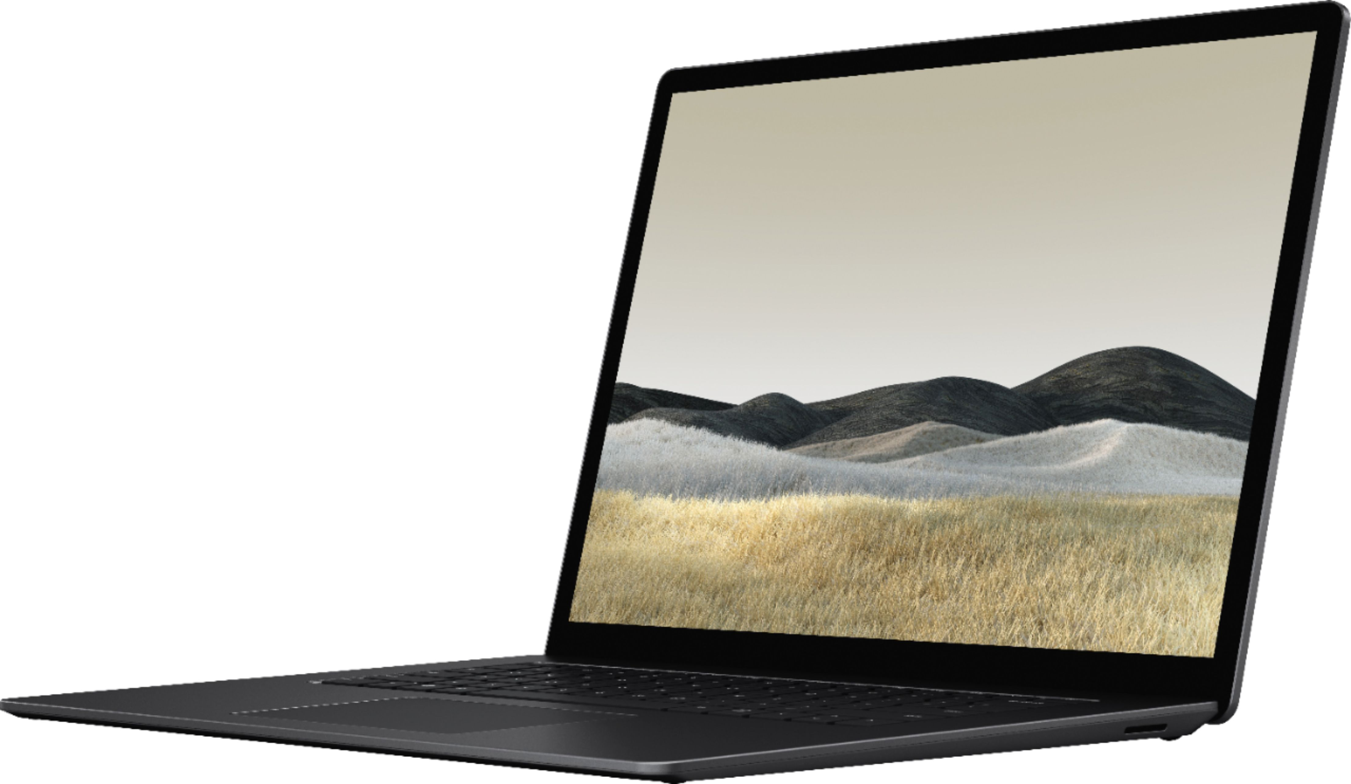 """Front Zoom. Microsoft - Surface Laptop 3 - 15"""" Touch-Screen - AMD Ryzen™ 7 Surface Edition - 32GB Memory - 1TB SSD (Latest Model) - Matte Black."""
