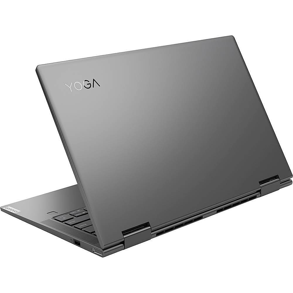 "Alt View Zoom 1. Lenovo - Yoga C740 2-in-1 14"" Touch-Screen Laptop - Intel Core i5 - 8GB Memory - 256GB SSD - Iron Gray."