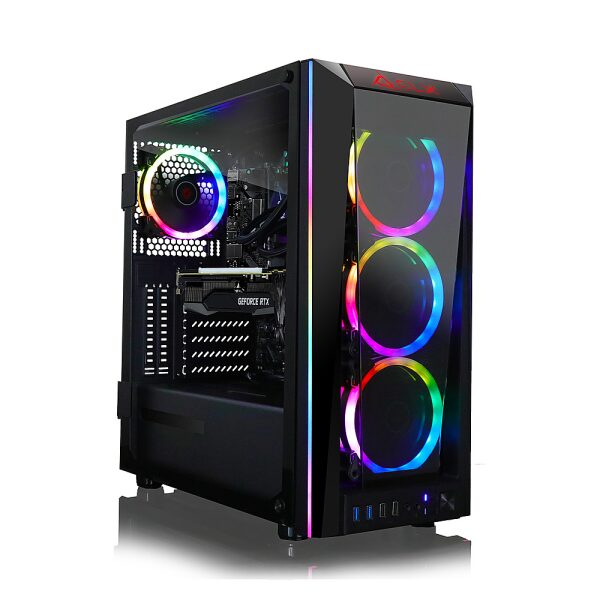 Front Zoom. CLX - SET Gaming Desktop - AMD Ryzen 9 5950X - 16GB Memory - NVIDIA GeForce RTX 3080 - 240GB SSD + 2TB HDD - Black.
