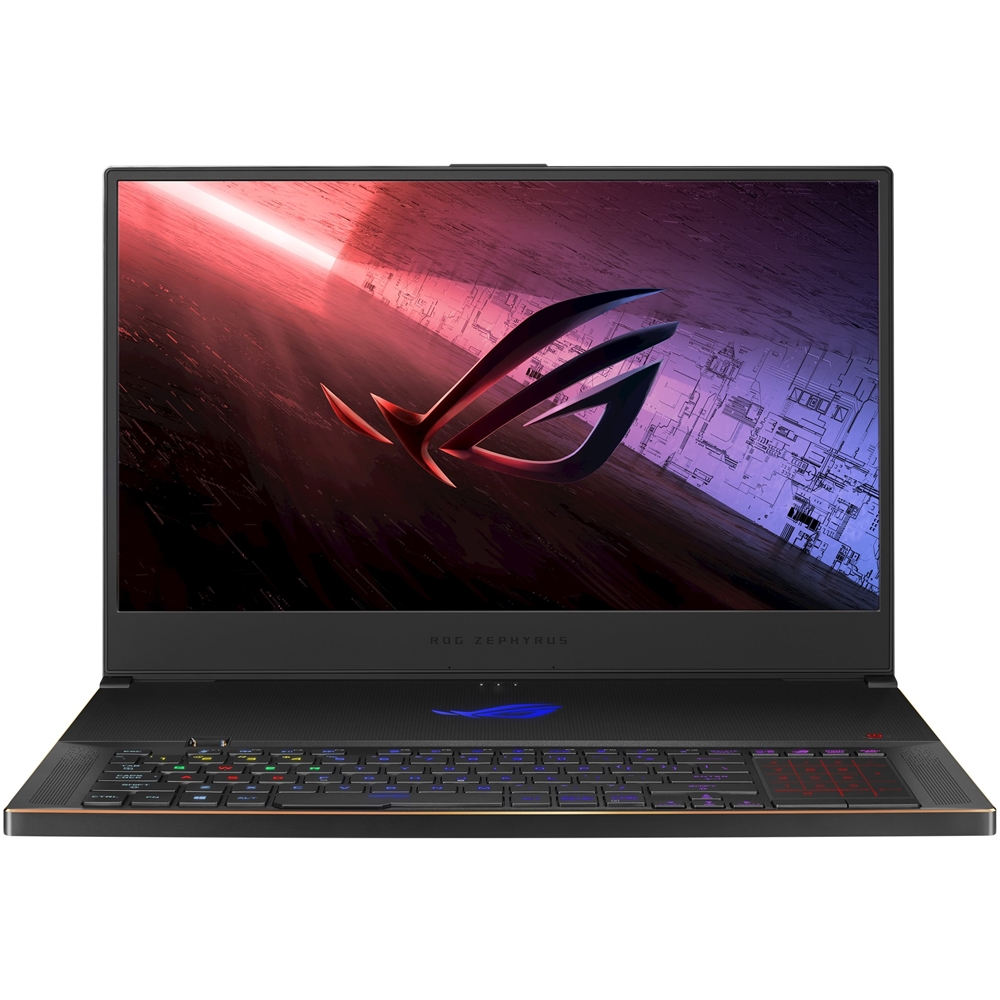 "Front Zoom. ASUS - ROG Zephyrus S17 17.3"" Laptop - Intel Core i7 - 32GB Memory - NVIDIA GeForce RTX 2080 SUPER - 1TB SSD Wi-Fi 6(Gig+) - Black."