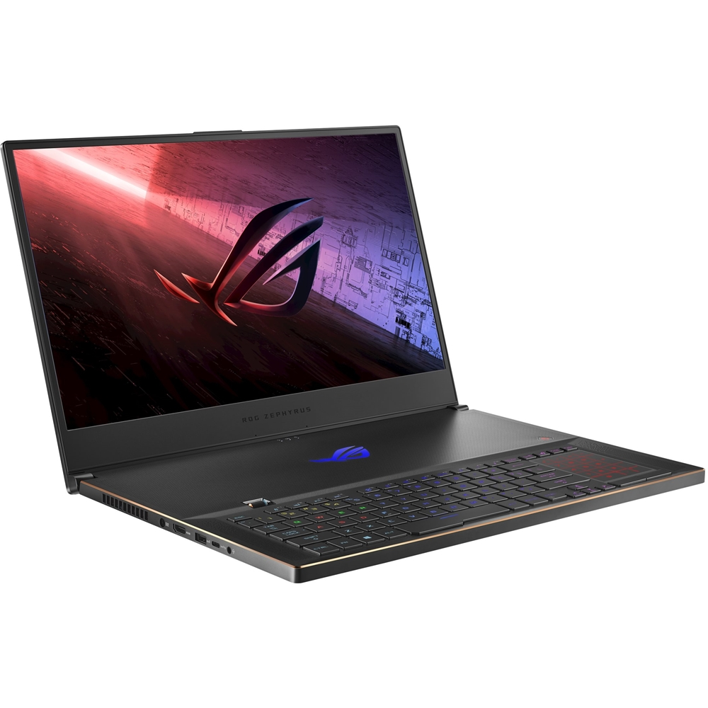 "Left Zoom. ASUS - ROG Zephyrus S17 17.3"" Laptop - Intel Core i7 - 32GB Memory - NVIDIA GeForce RTX 2080 SUPER - 1TB SSD Wi-Fi 6(Gig+) - Black."