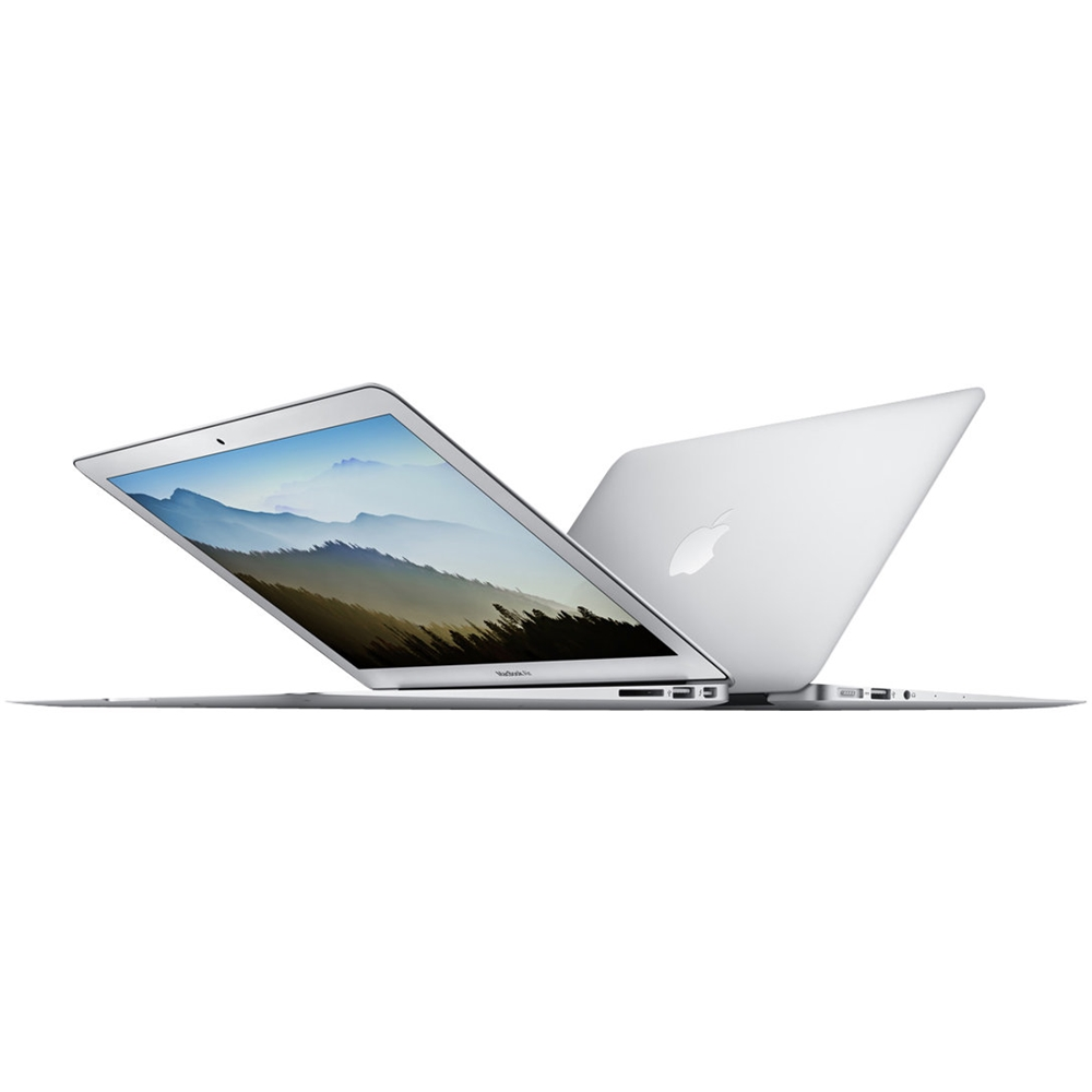 "Alt View Zoom 11. Apple - MacBook Air 11.6"" Pre-Owned Laptop - Intel Core i5 - 4GB Memory - 128GB Flash Storage - Silver."