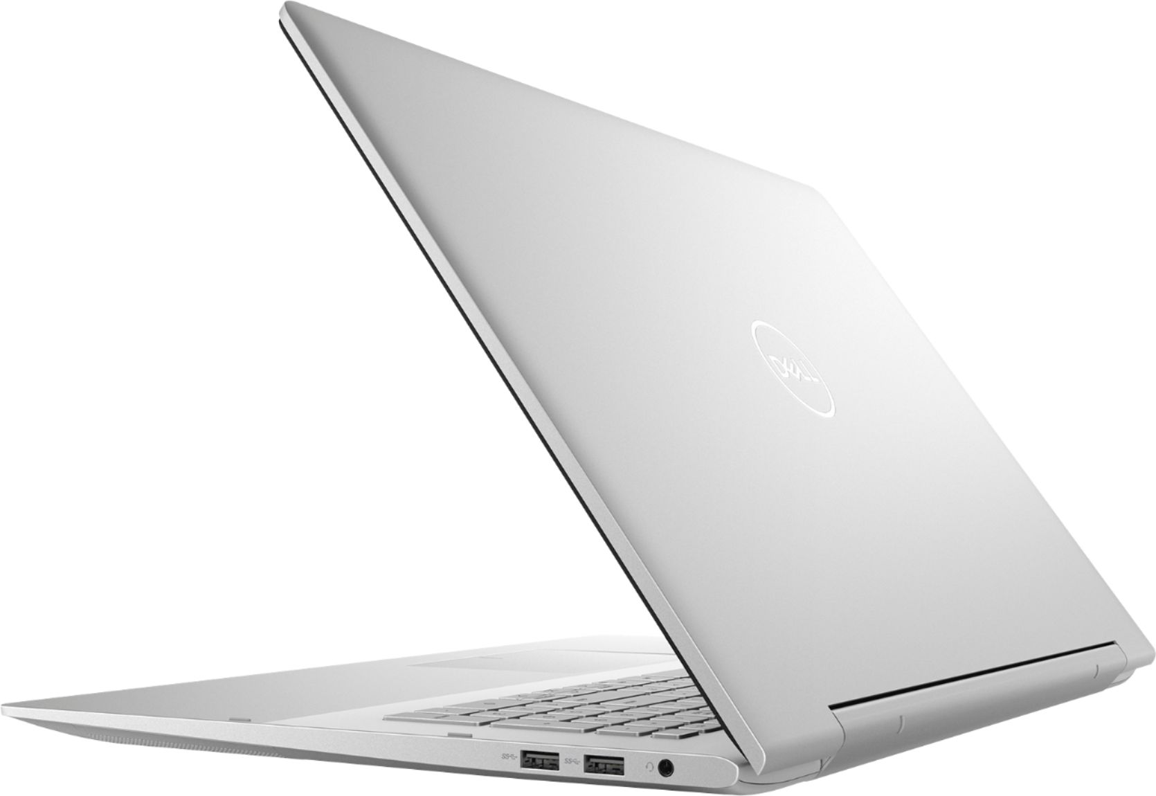 "Alt View Zoom 1. Dell - Inspiron 15.6"" 7000 2-in-1 Touch-Screen Laptop - Intel Core i7 - 12GB Memory - 512GB SSD + 32GB Optane - Silver."
