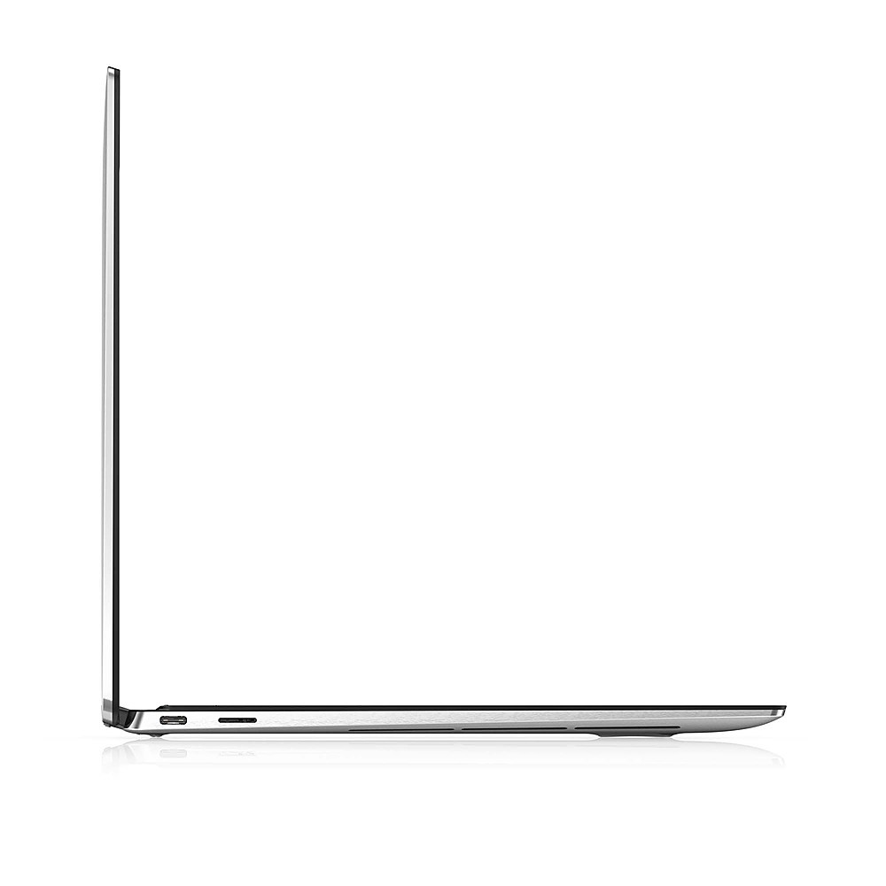 """Alt View Zoom 1. Dell - XPS 13.4"""" 2-in-1 Touch UHD+ Laptop - Intel Core i7- 16GB Memory - 512GB Solid State Drive - Platinum Silver, Black interior."""