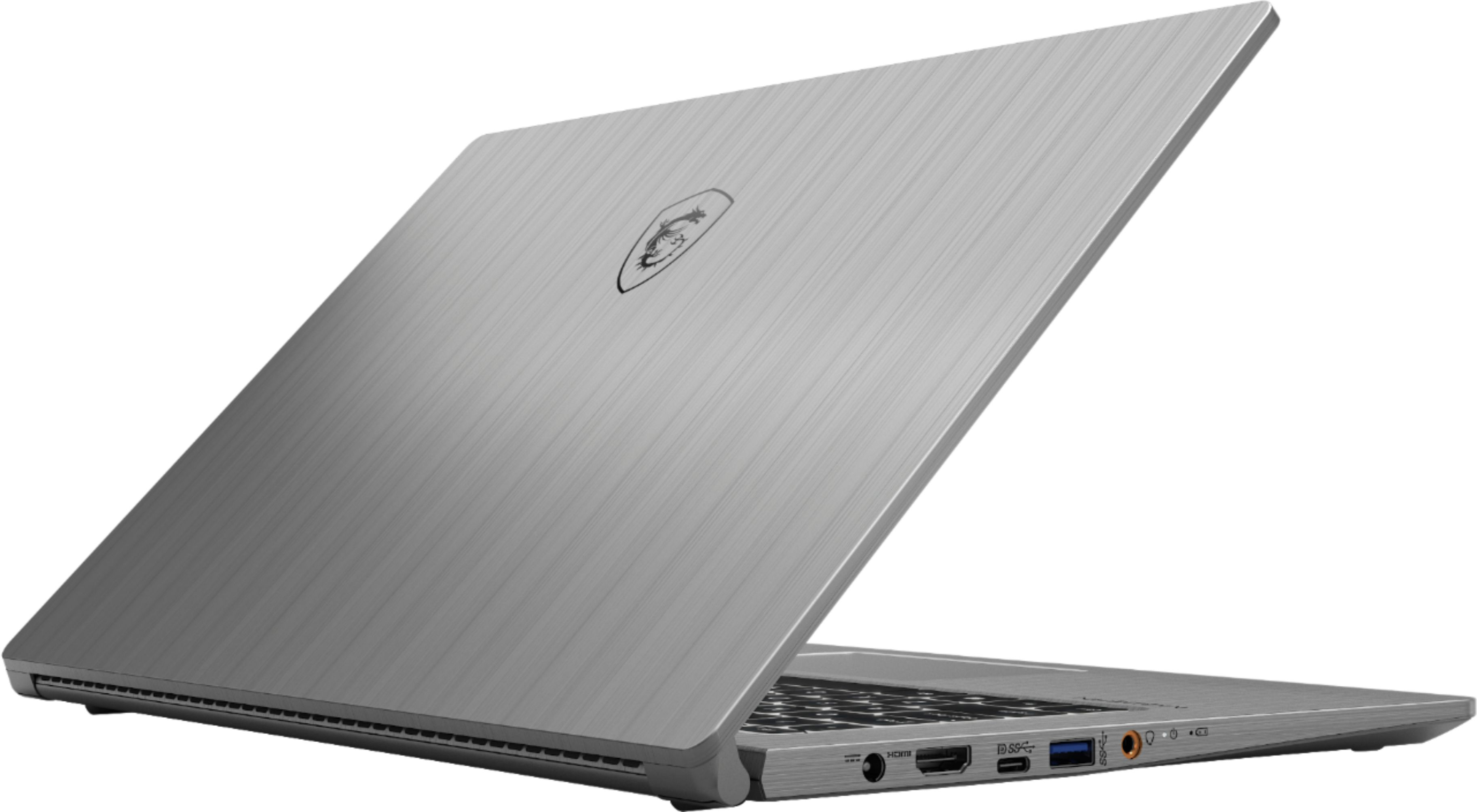Alt View Zoom 1. MSI - Modern 15 A10M-450 - Intel I7 - 16GB Memory - 512GB SSD - Space Gray.
