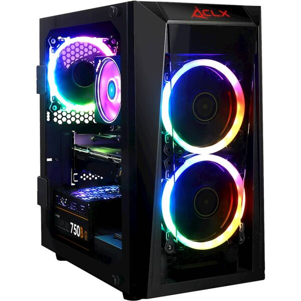 Front Zoom. CLX SET Gaming Desktop - AMD Ryzen 7 3800X - 16GB Memory - NVIDIA GeForce RTX 2080 - 960GB Solid State Drive - Black/RGB.