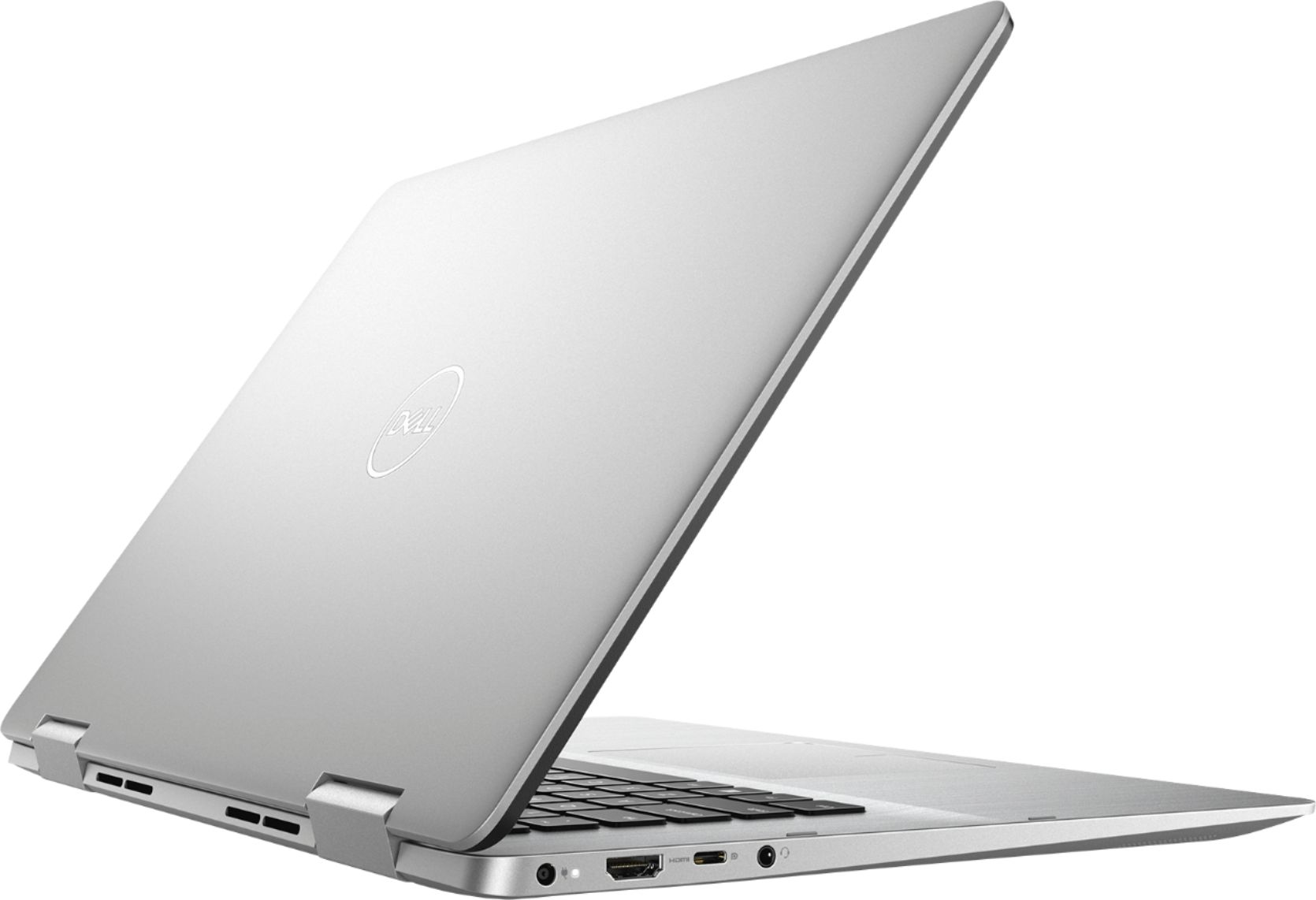 "Alt View Zoom 12. Dell - Inspiron 2-in-1 15.6"" Geek Squad Certified Refurbished Touch-Screen Laptop - Intel Core i5 - 8GB Memory - 256GB SSD - Silver."
