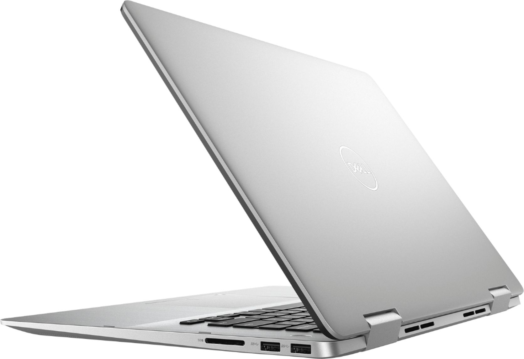 """Alt View Zoom 1. Dell - Inspiron 2-in-1 15.6"""" Geek Squad Certified Refurbished Touch-Screen Laptop - Intel Core i5 - 8GB Memory - 256GB SSD - Silver."""