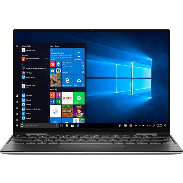 "Dell - XPS 2-in-1 13.4"" Touch-Screen Laptop - Intel Core i7 - 8GB Memory - 256GB Solid State Drive - Platinum Silver With Black Interior"