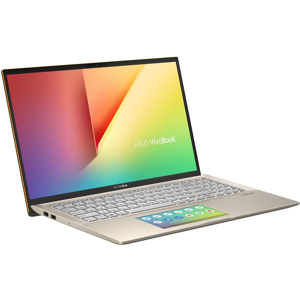 "Left Zoom. ASUS - VivoBook S15 15.6"" Laptop - Intel Core i5 - 8GB Memory - 512GB SSD - Moss Green."