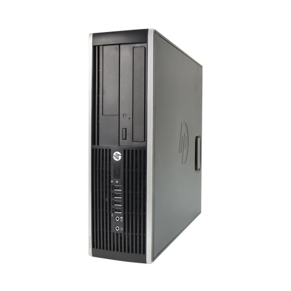 Front Zoom. HP - Refurbished Compaq Desktop - Intel Core 2 Duo - 4GB Memory - 250GB Hard Drive - Black.