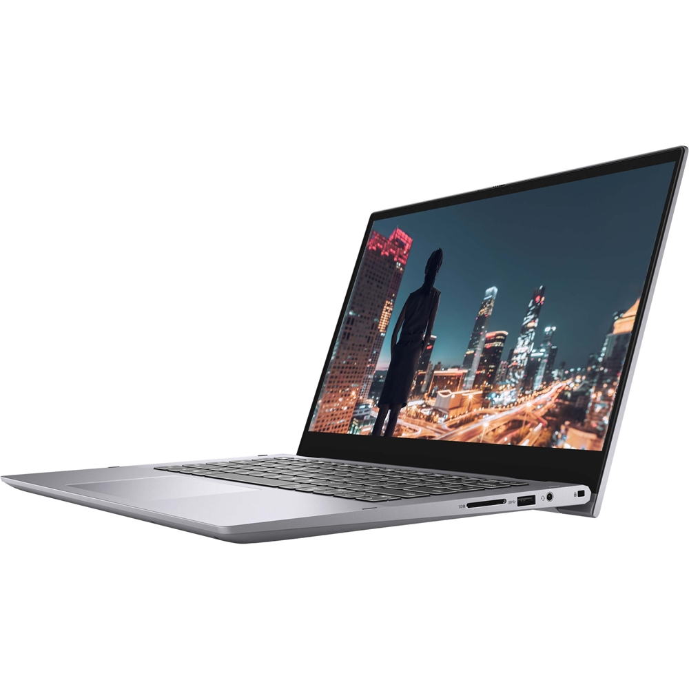 """Alt View Zoom 12. Dell - Inspiron 2-in-1 14"""" Touch-Screen Laptop - Intel Core i7 - 8GB Memory - 256GB SSD - Titan Gray."""