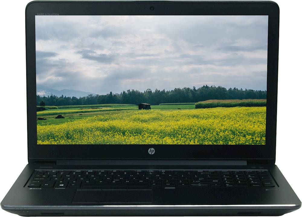"Front Zoom. HP - 15.6"" Refurbished Laptop - Intel Core i7 - 16GB Memory - 512GB SSD - Black."