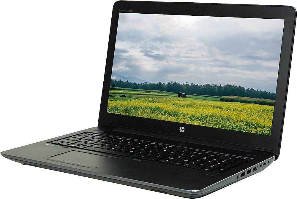 "Left Zoom. HP - 15.6"" Refurbished Laptop - Intel Core i7 - 16GB Memory - 512GB SSD - Black."