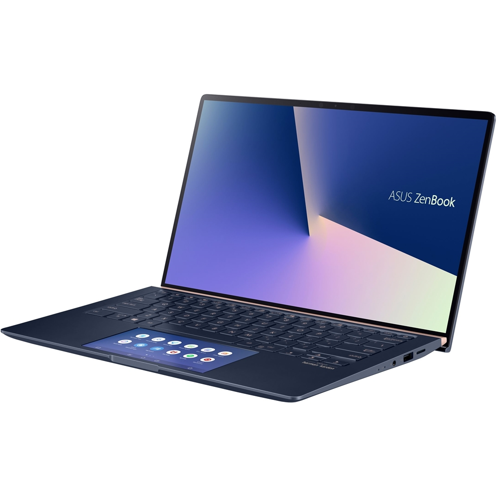 "Alt View Zoom 11. ASUS - Zenbook 14"" Laptop - Intel Core i7 - 16GB Memory - NVIDIA GeForce MX250 - 512GB SSD - Royal Blue - Royal Blue."